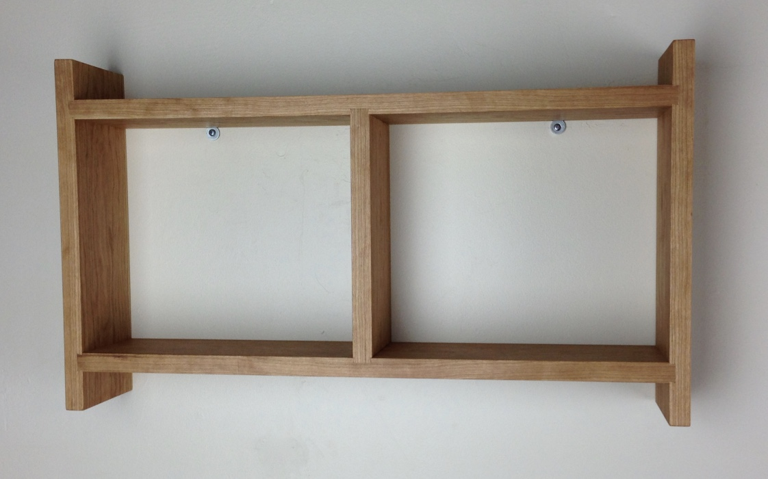 small horizontal bookshelf