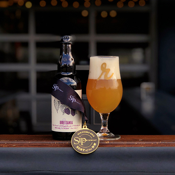 Brettania: Boysenberry and Blackberry won the Double Gold in SIP Northwest's Best of the Northwest 2018