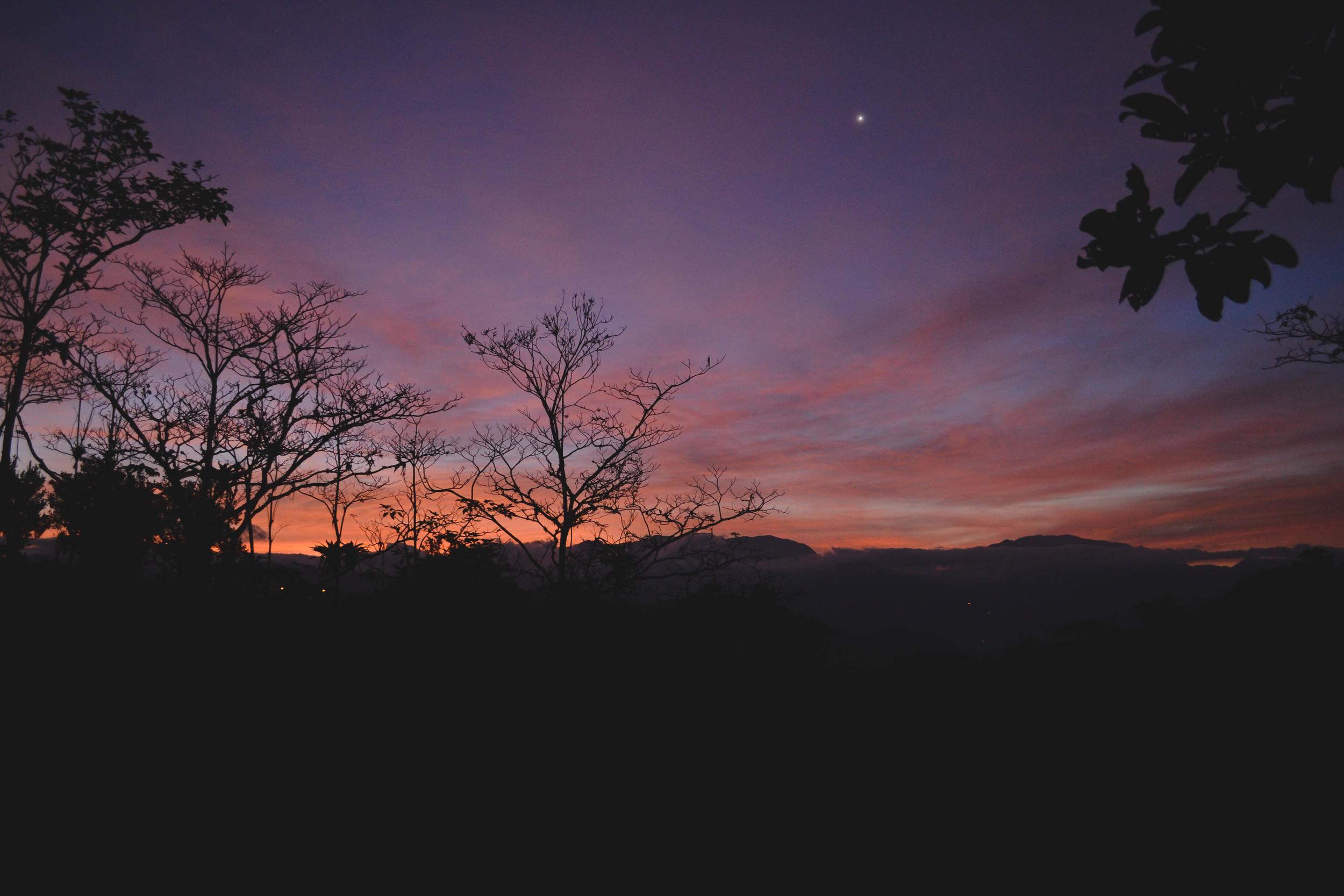 One of my last sunrises at La Iguana