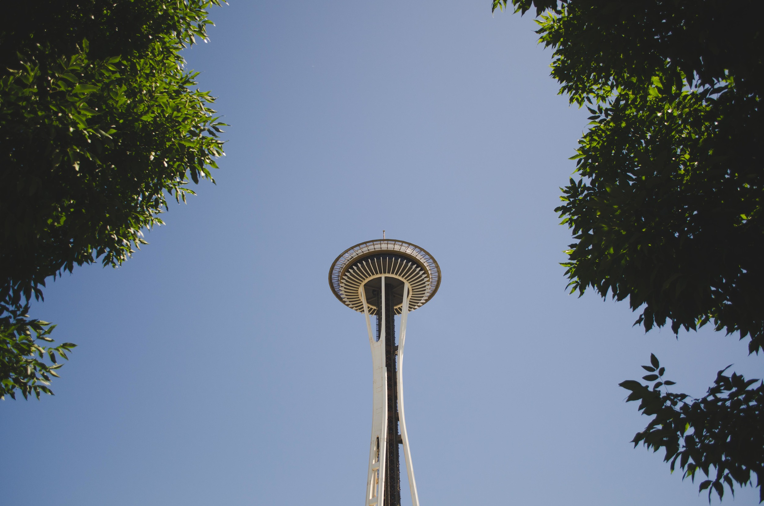 That landmark that's kinda popular...I think it's called the Galaxy Probe...or maybe it's the Space Needle...