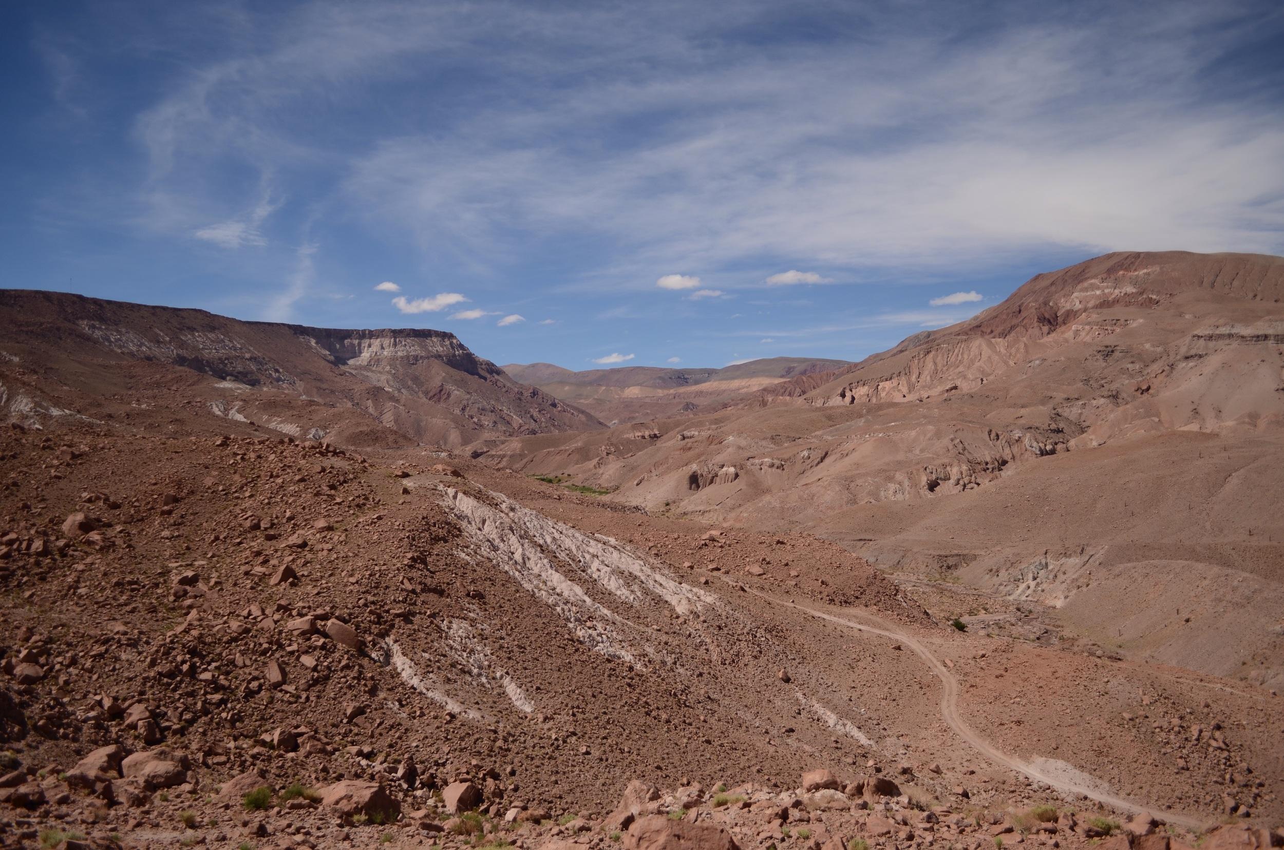 Vista en route to San Pedro // 16 april 2015