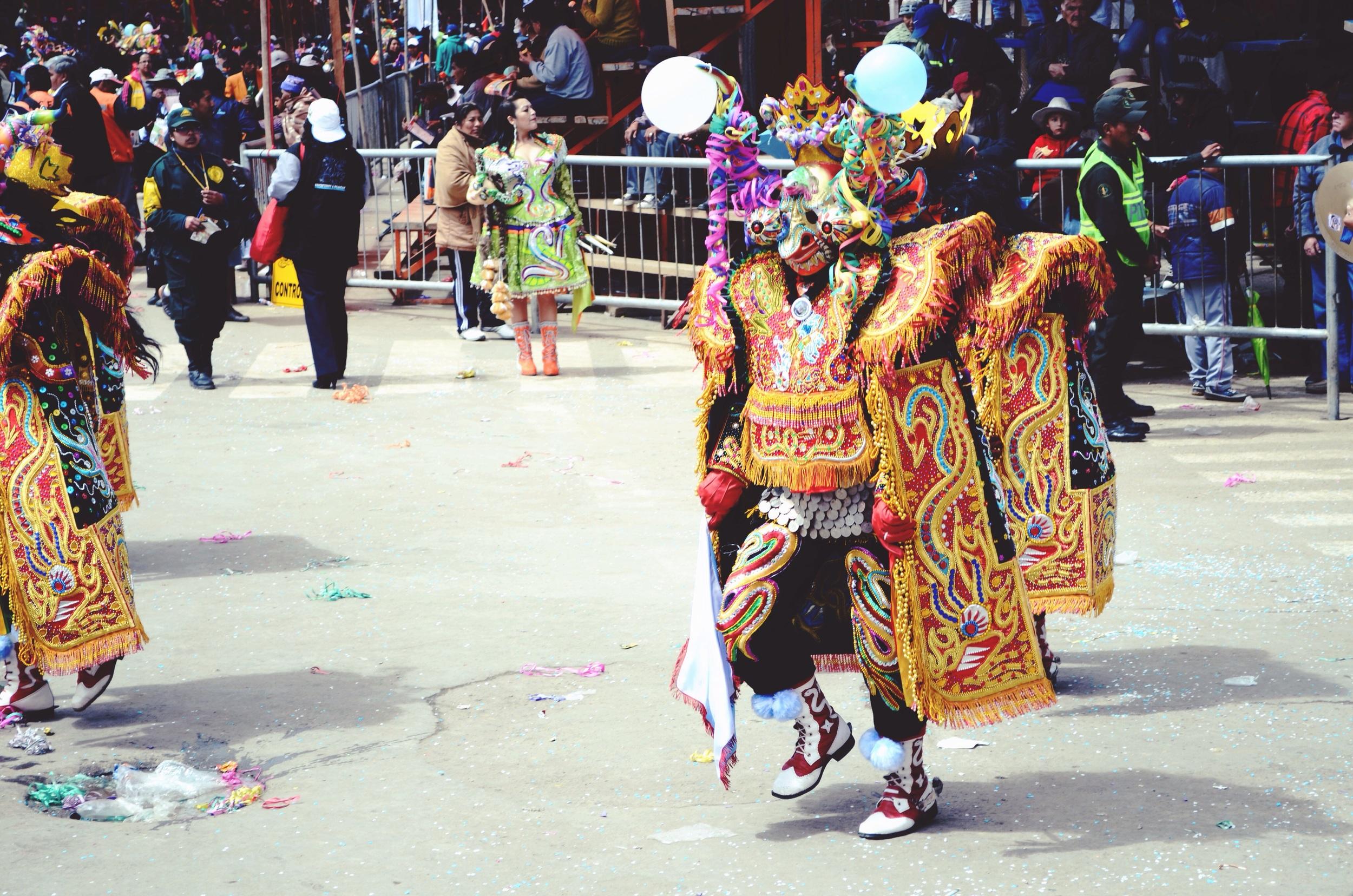 El diablo - the devil - character of Carnaval // 15 february 2015