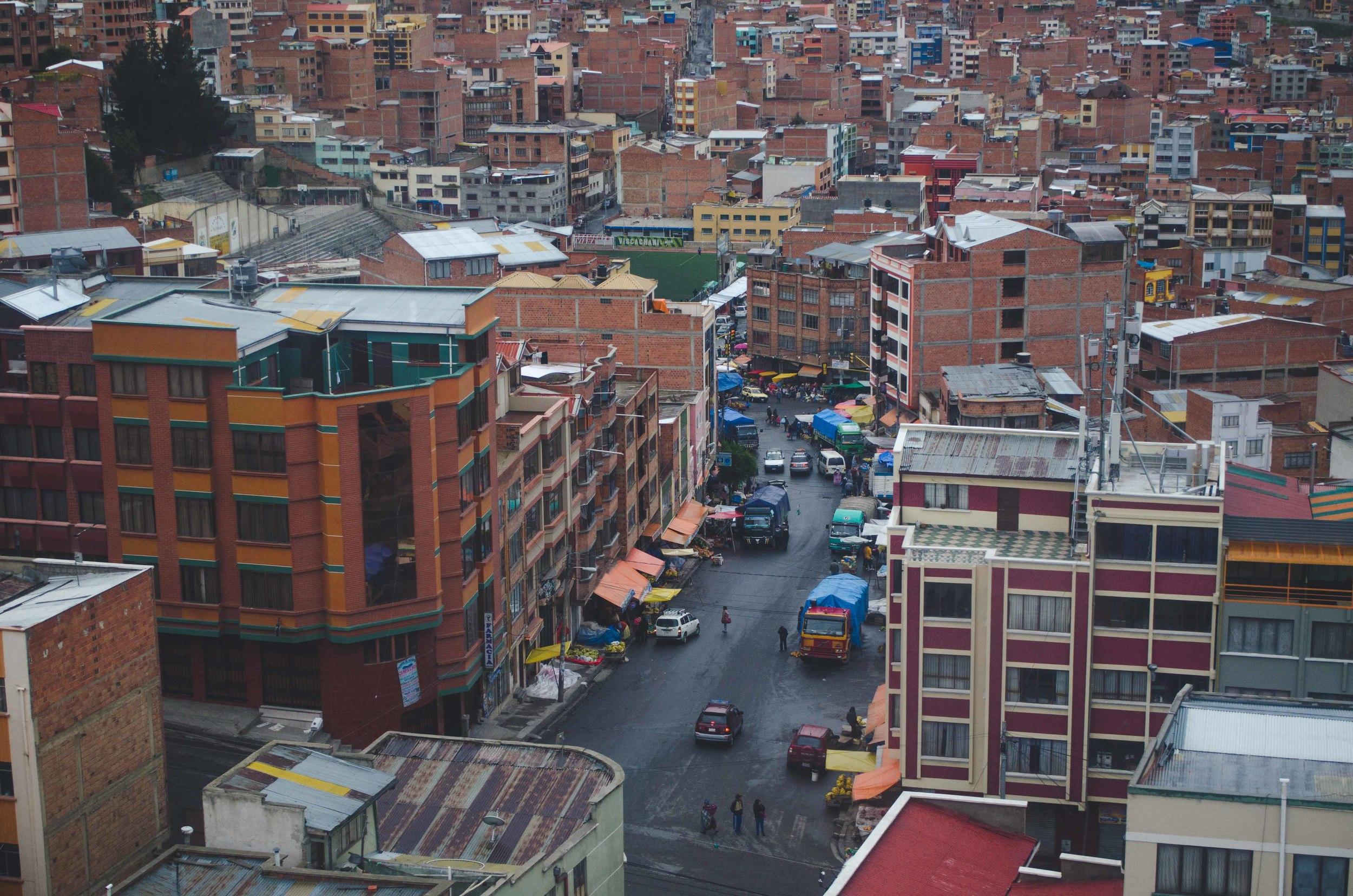 open-air street market