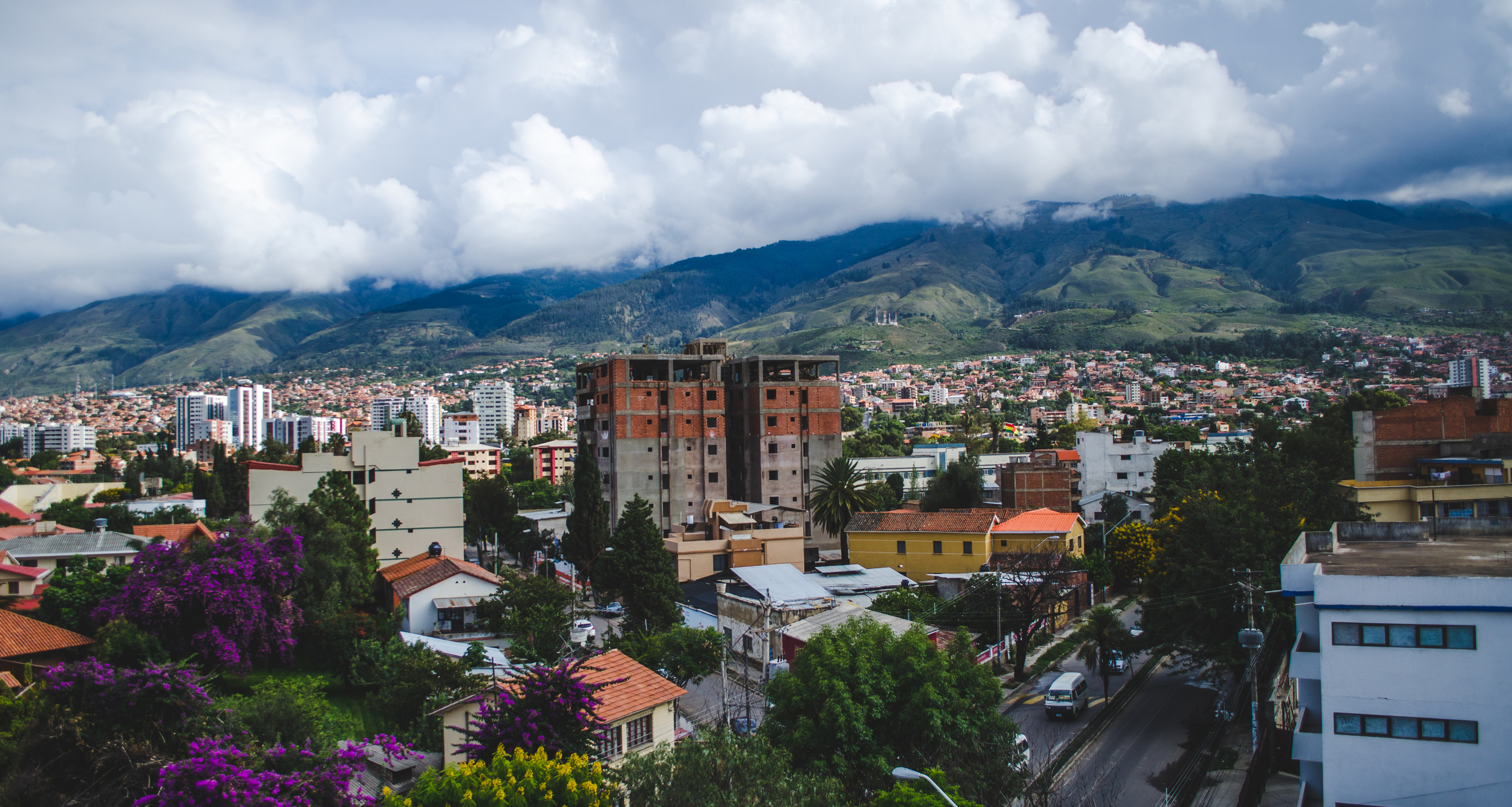the beautiful hills of Cochabamba