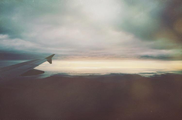 Flying to San Pedro de Atacama