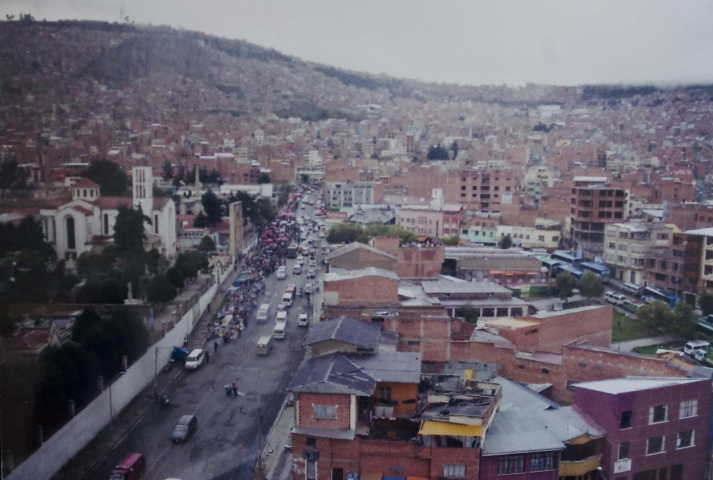 la paz, bolivia // january 2015