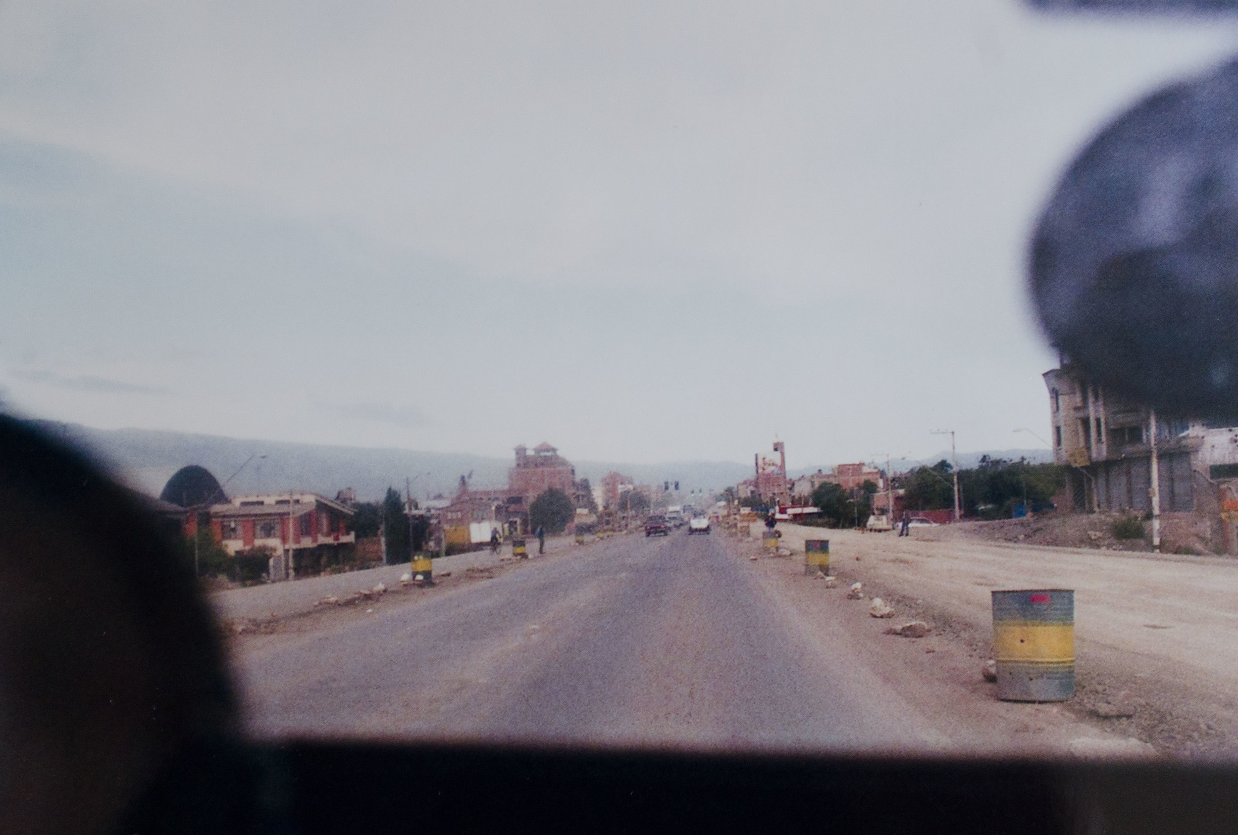 road between Cochabamba and Vinto // february 2015