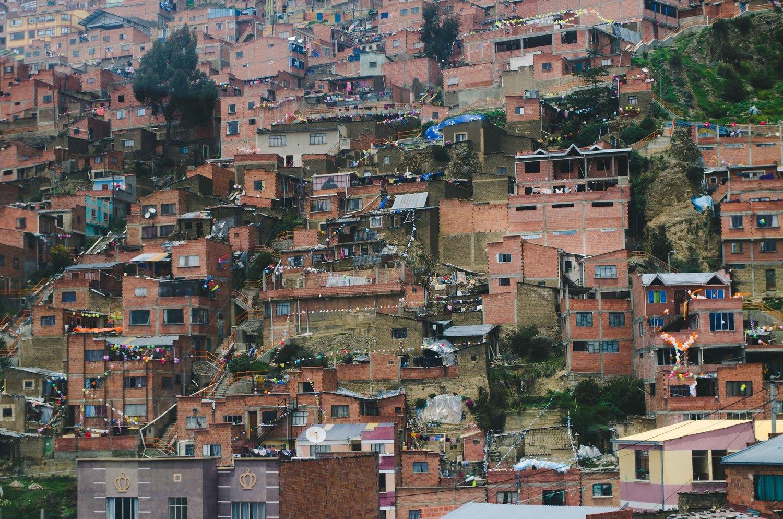 more photos of La Paz, Bolivia here