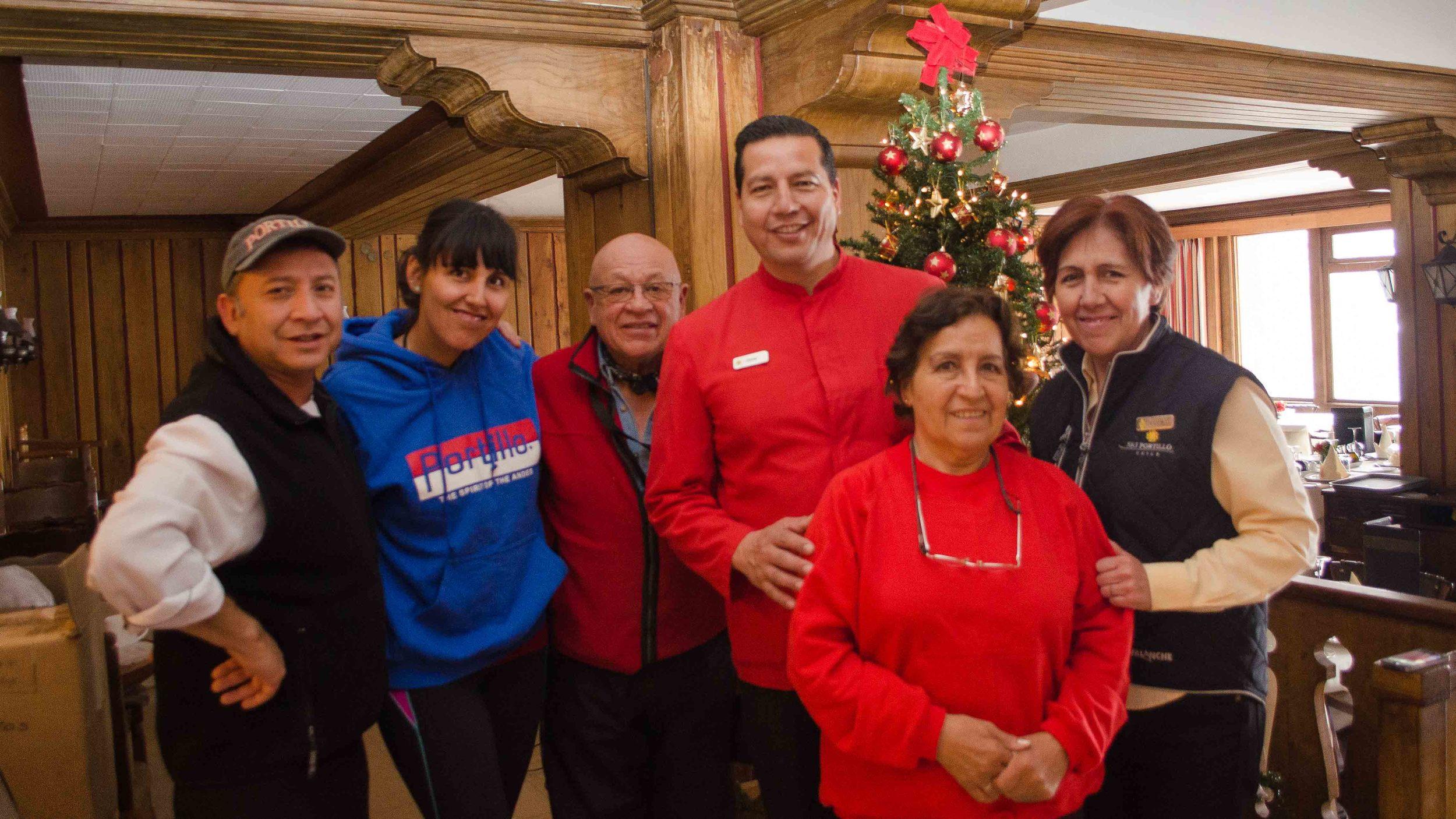 Good people at Ski Portillo // Buena gente en Ski Portillo