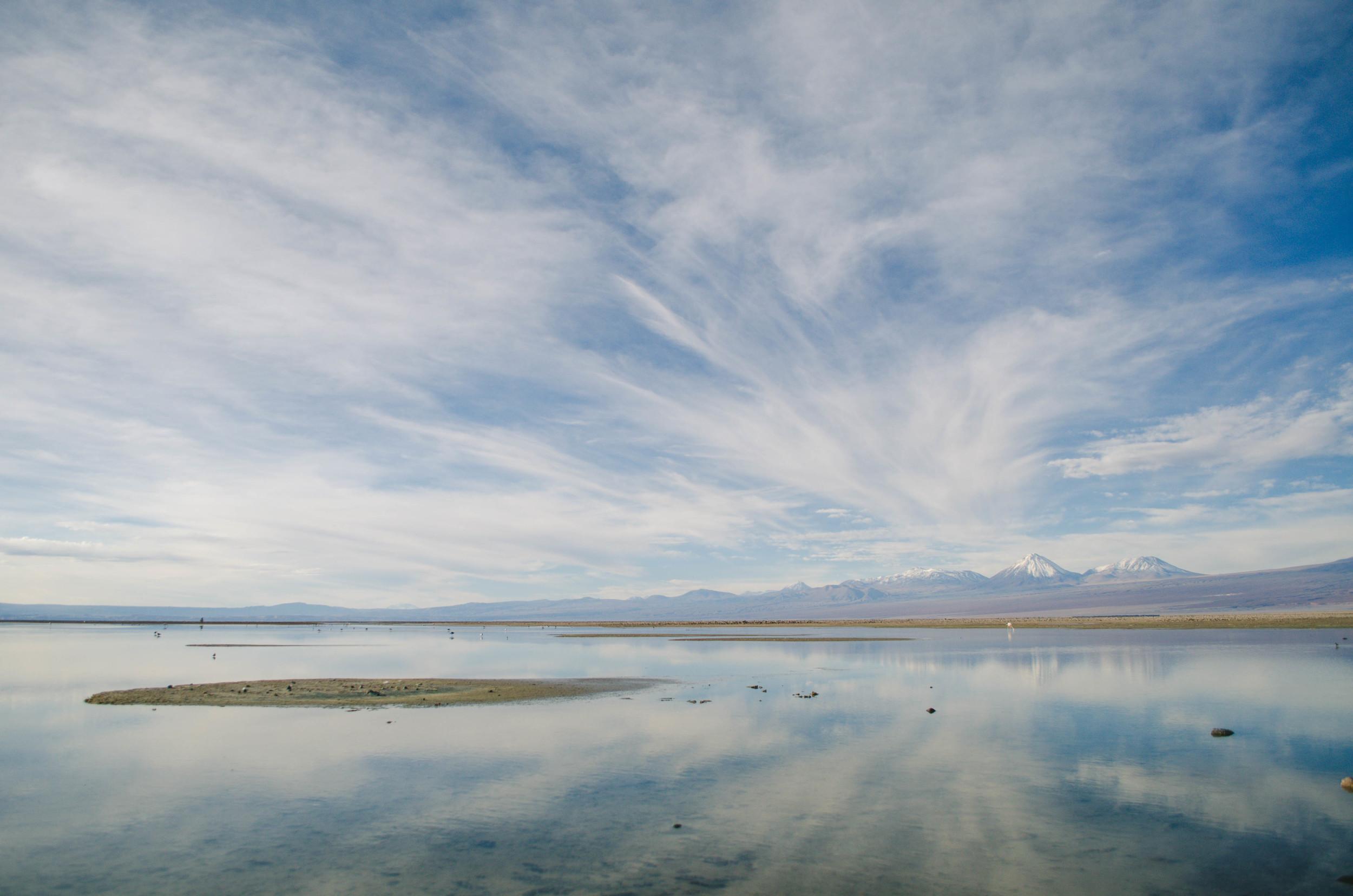 The Lagoon at the Salt Flats