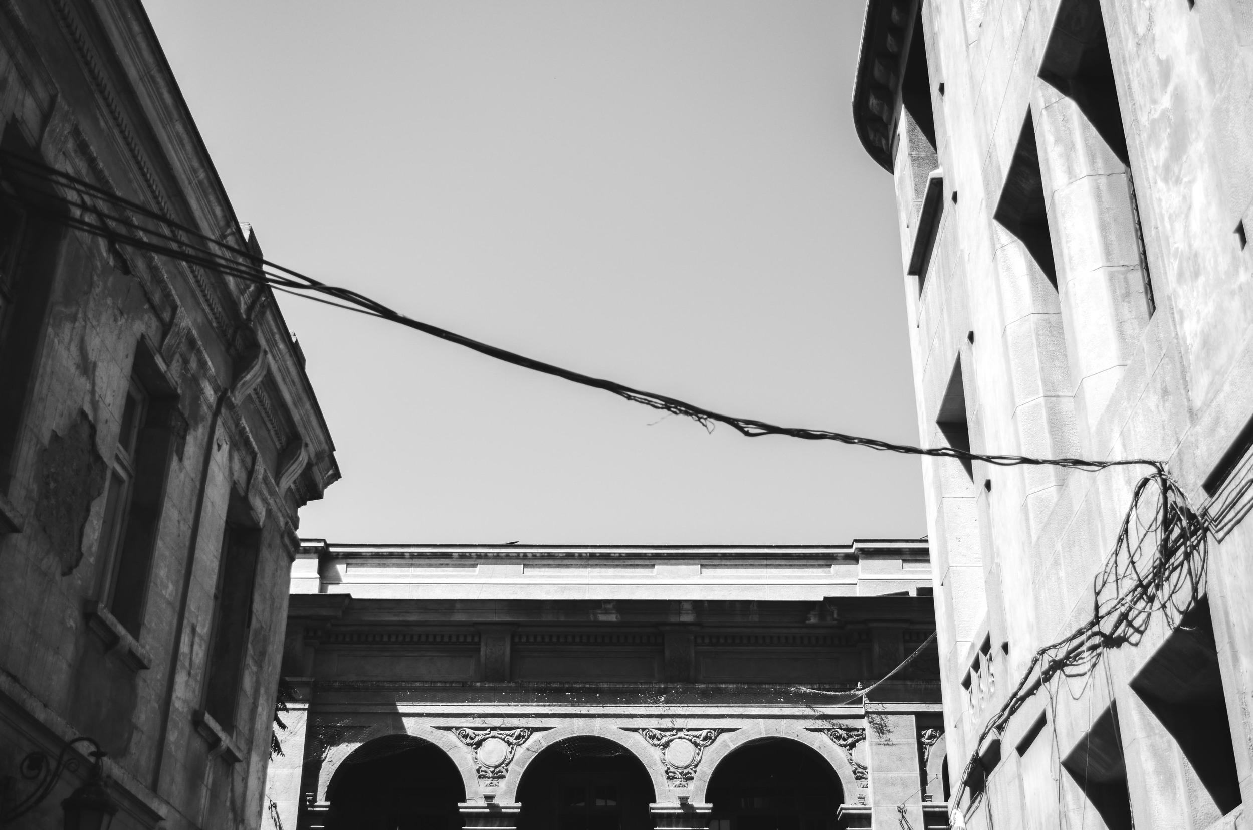 Historical neighborhood in Santiago