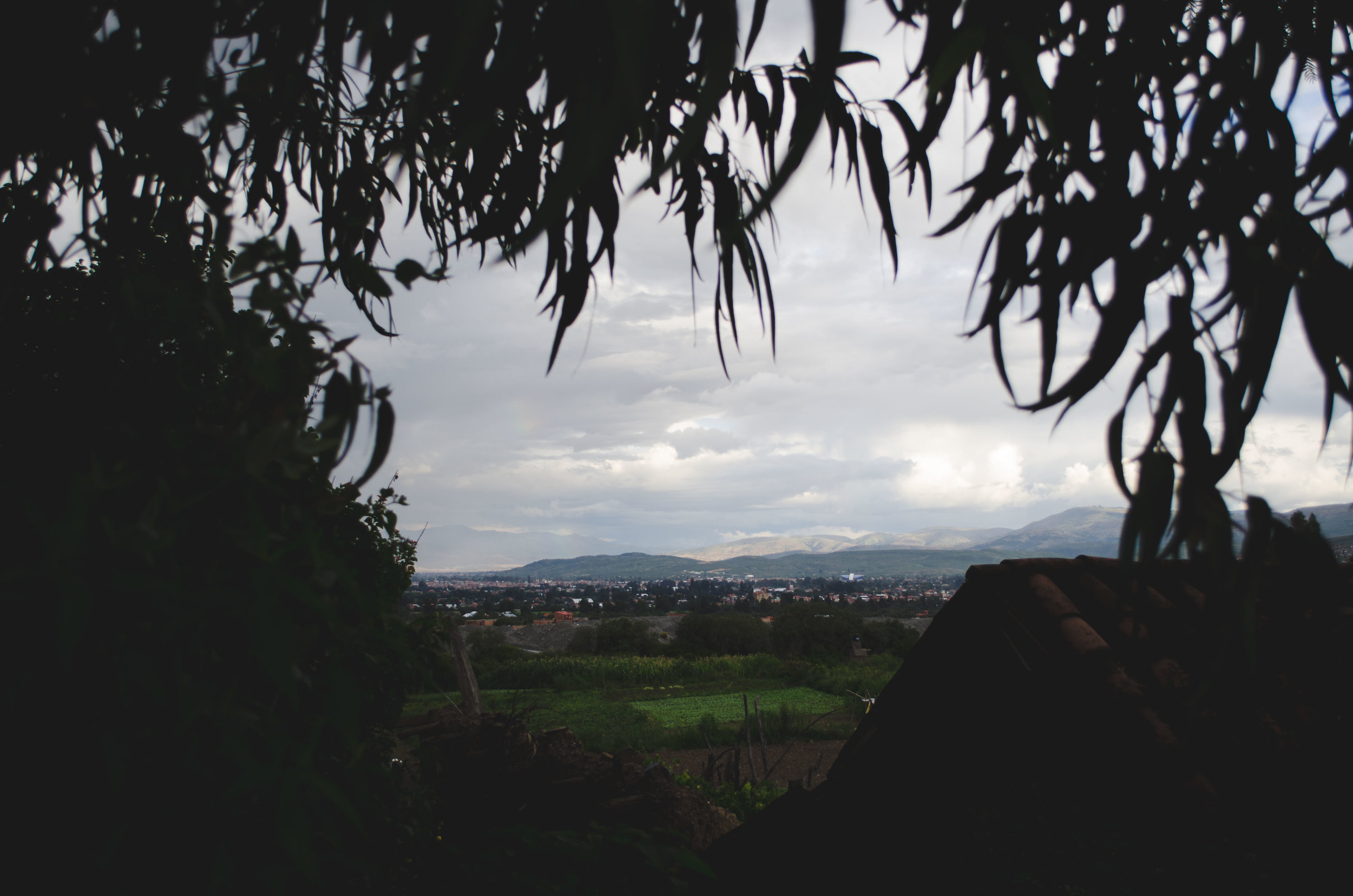Vinto, looking towards Cochabamba