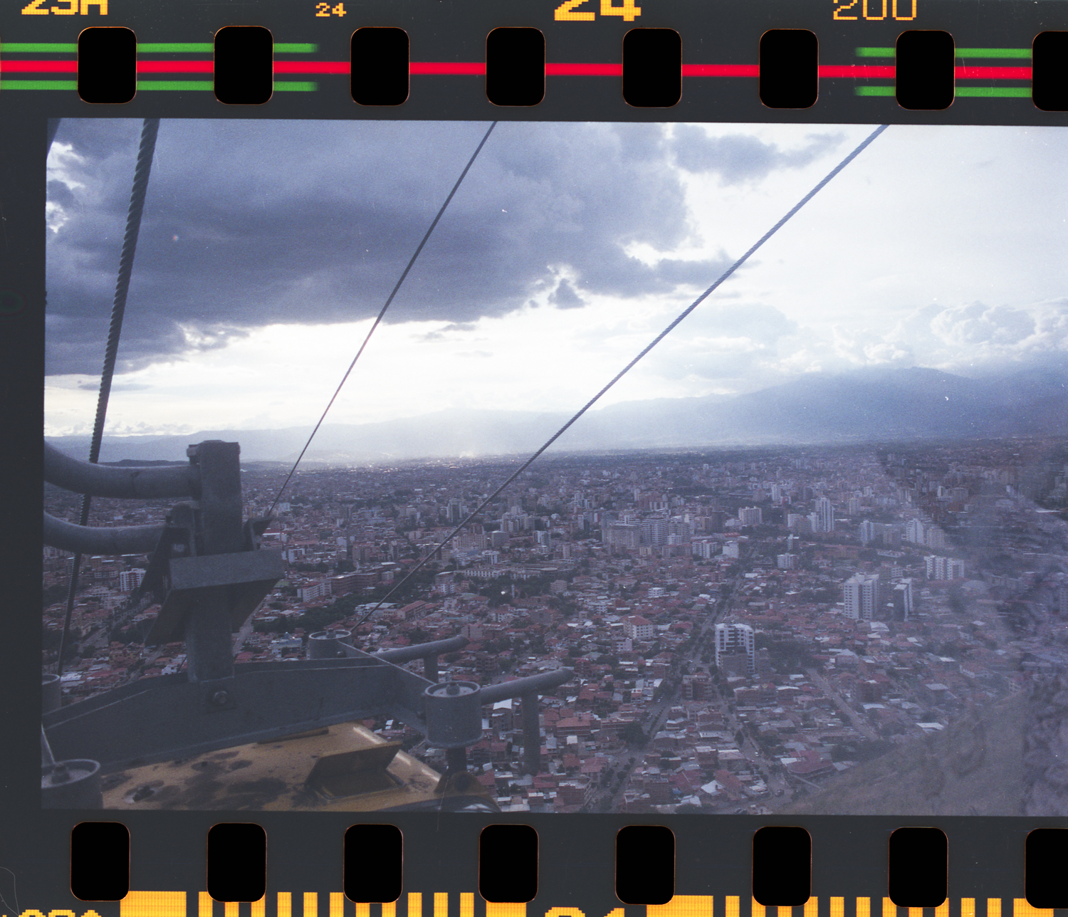 View from the cable car, Cochabamba