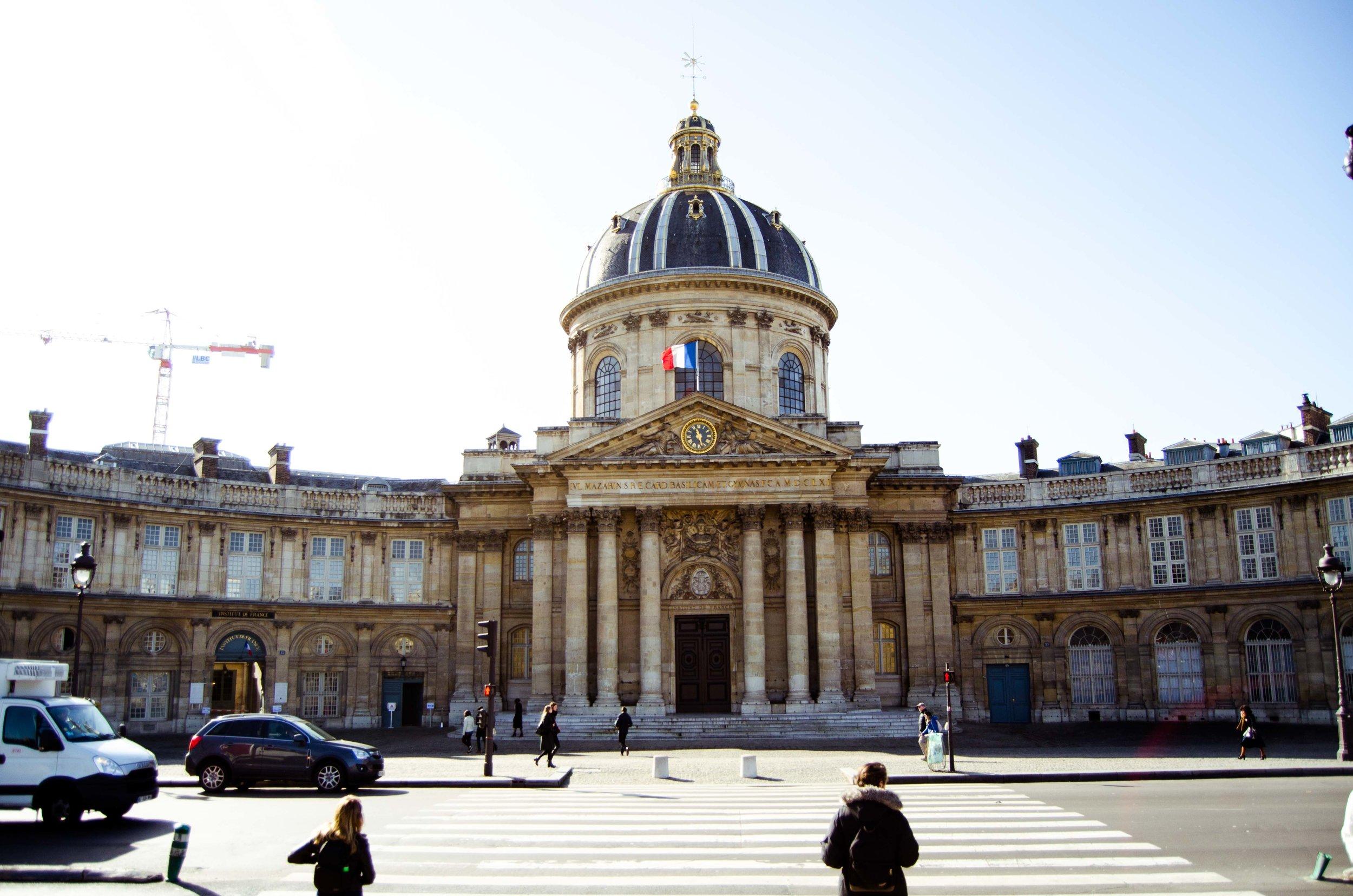march 2 // Institut de France as seen from Les Pont des Arts