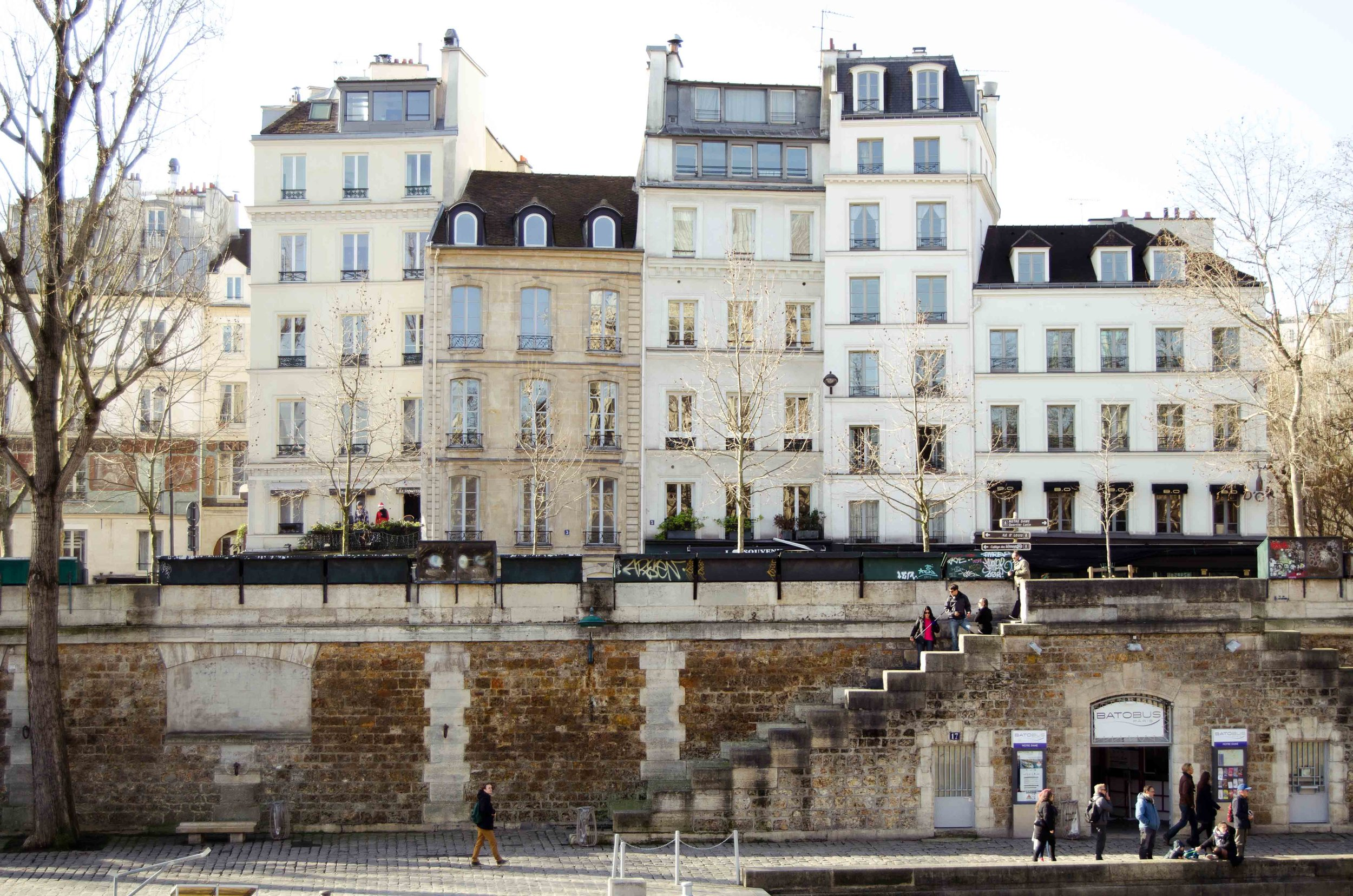 march 2 // steps along La Seine river