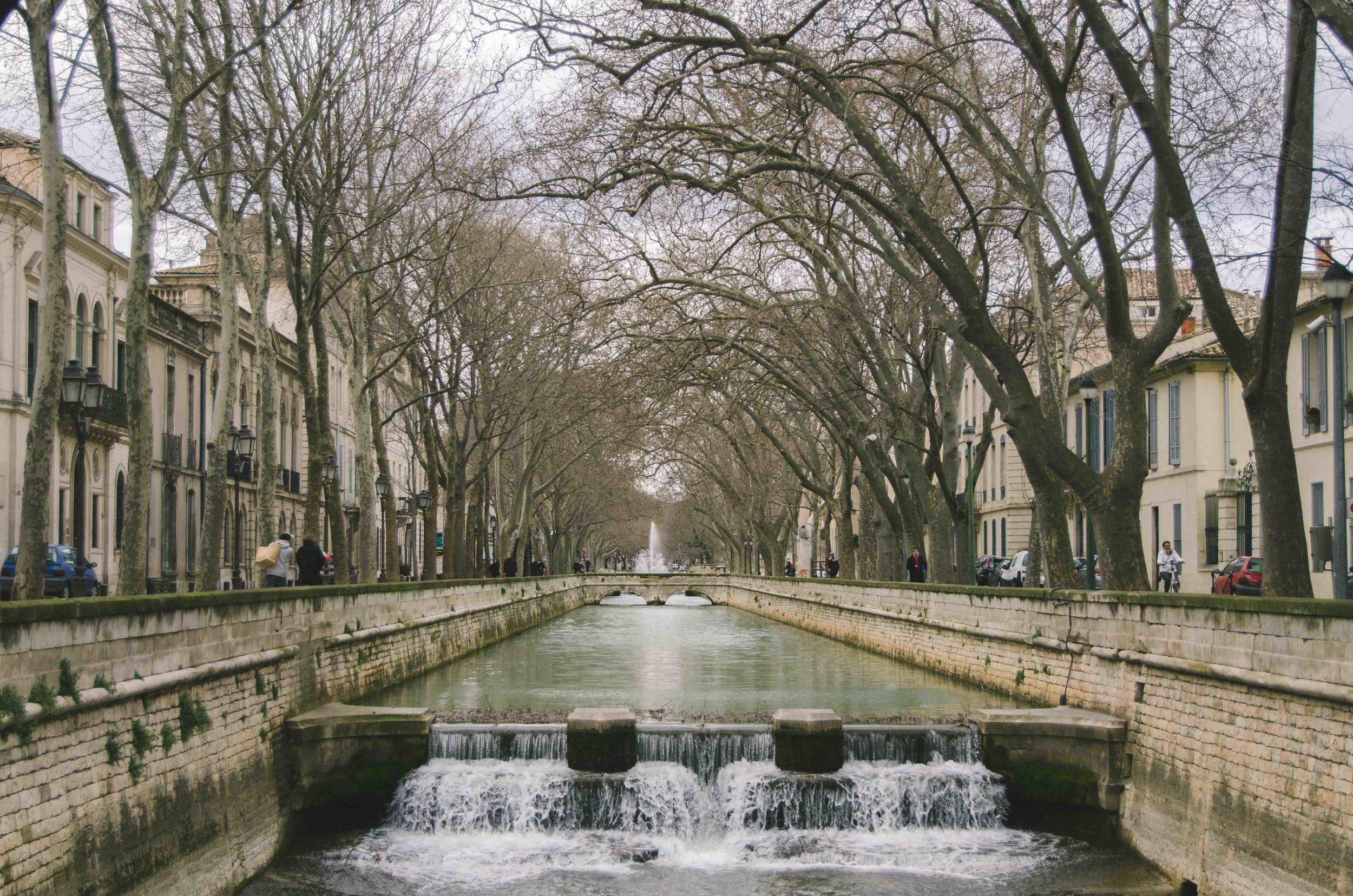 march 4 // Canal near Les Jardins de la Fontaine