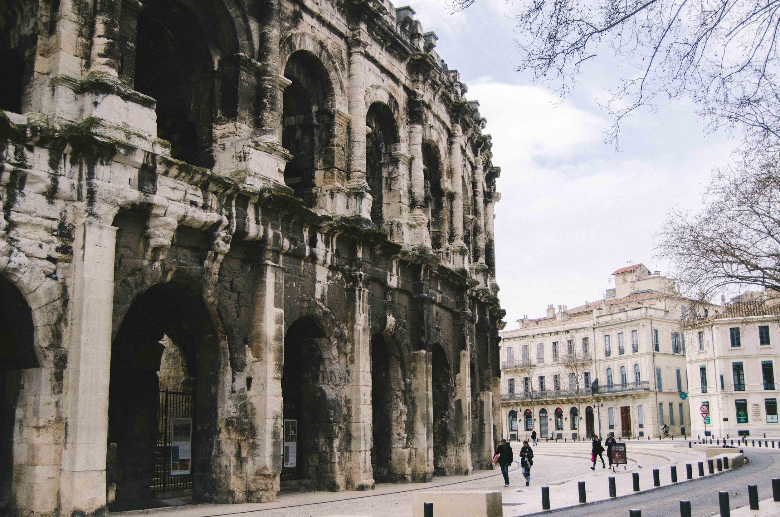 march 4 // Arènes de Nîmes, built around 70 A.D.