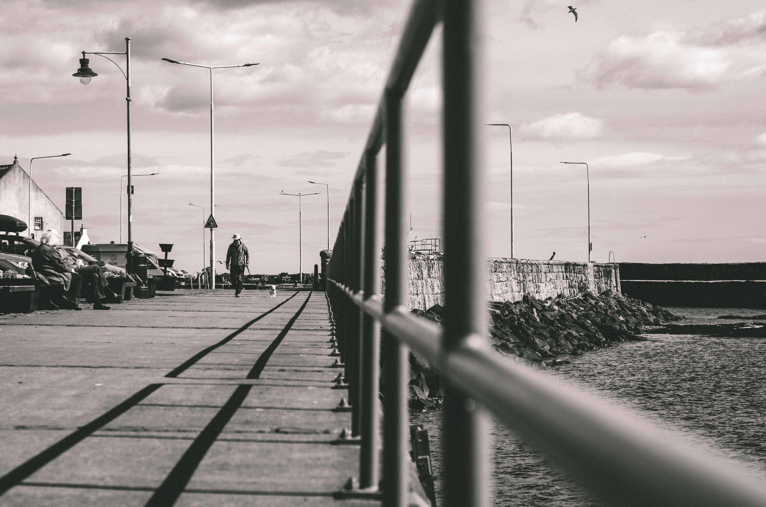 Pittenweem harbor