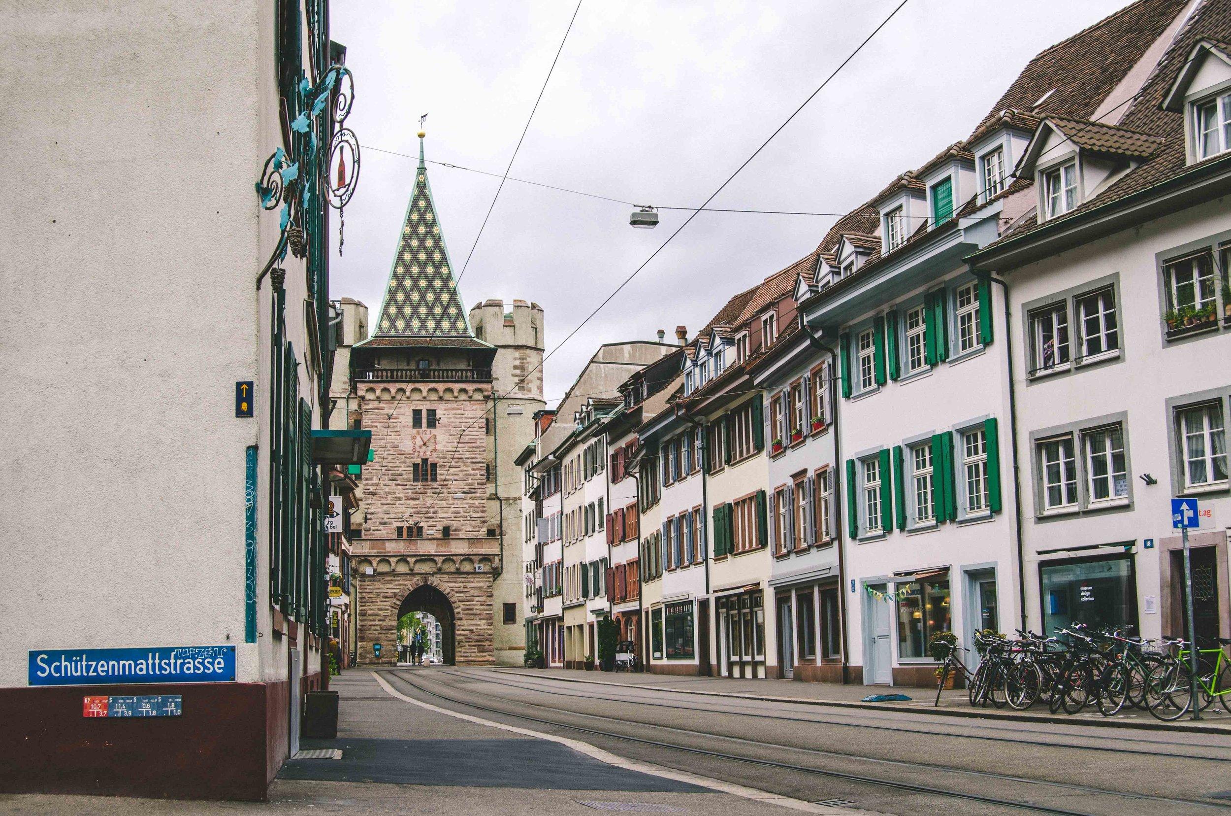 Switzerland:land of long street names