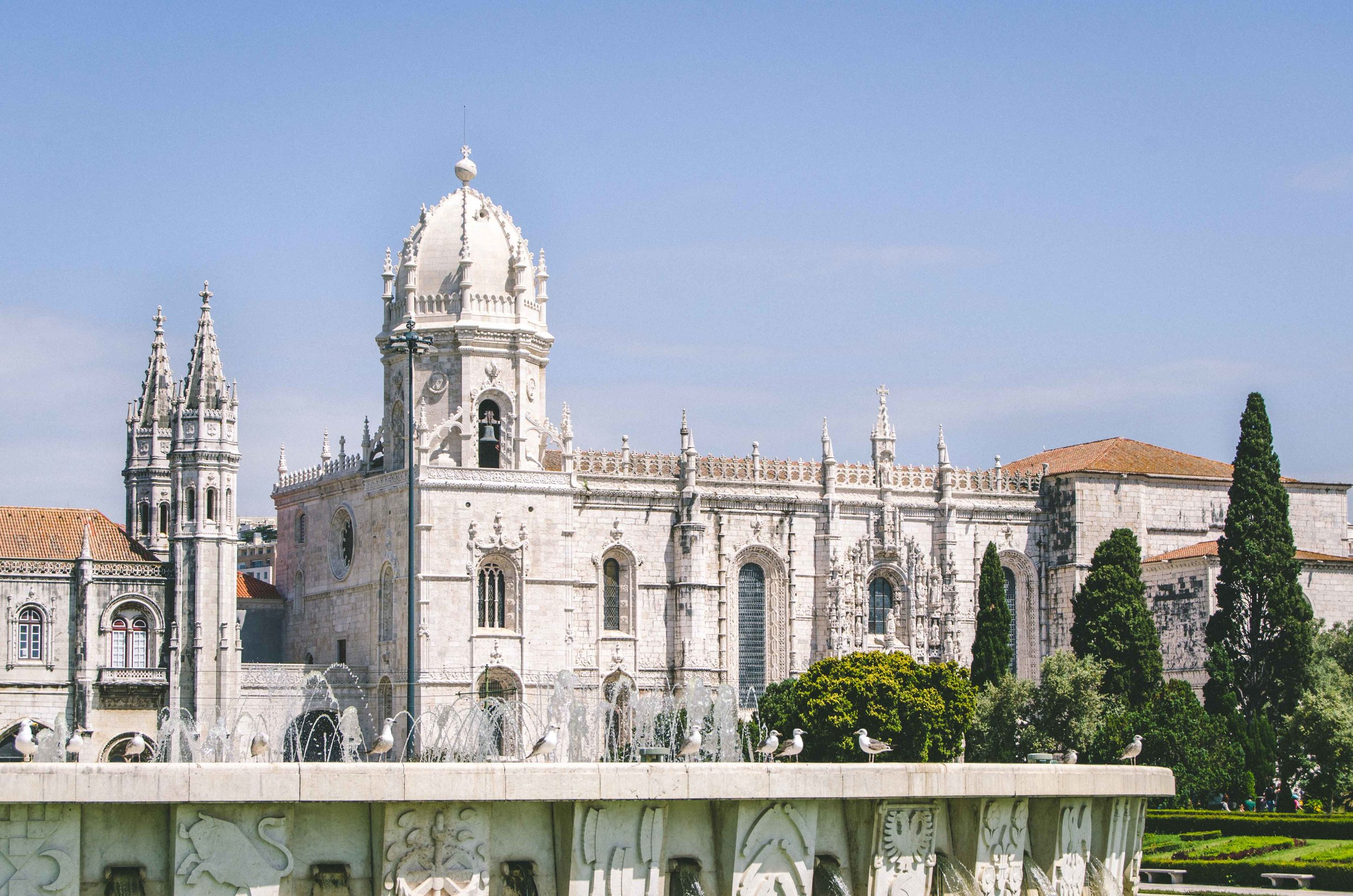 Mosteiro dos Jerónimos, former monastery and current UNESCO World Heritage Site