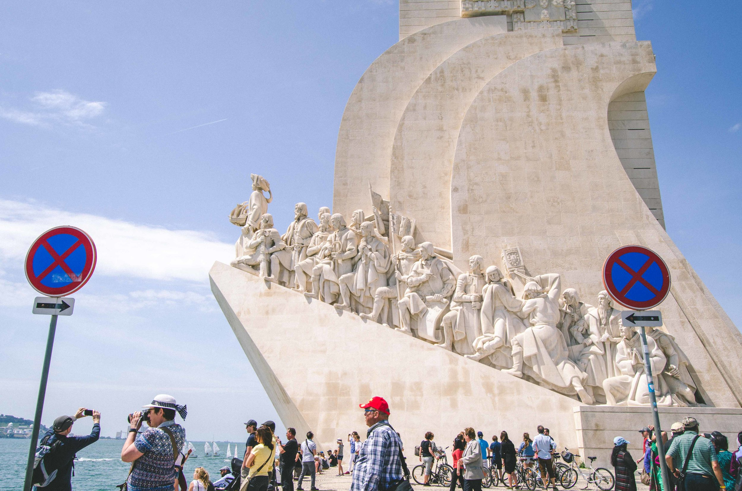 Padrão dos Descobrimentos, monument to the Portugal's hand in the Age of Discovery