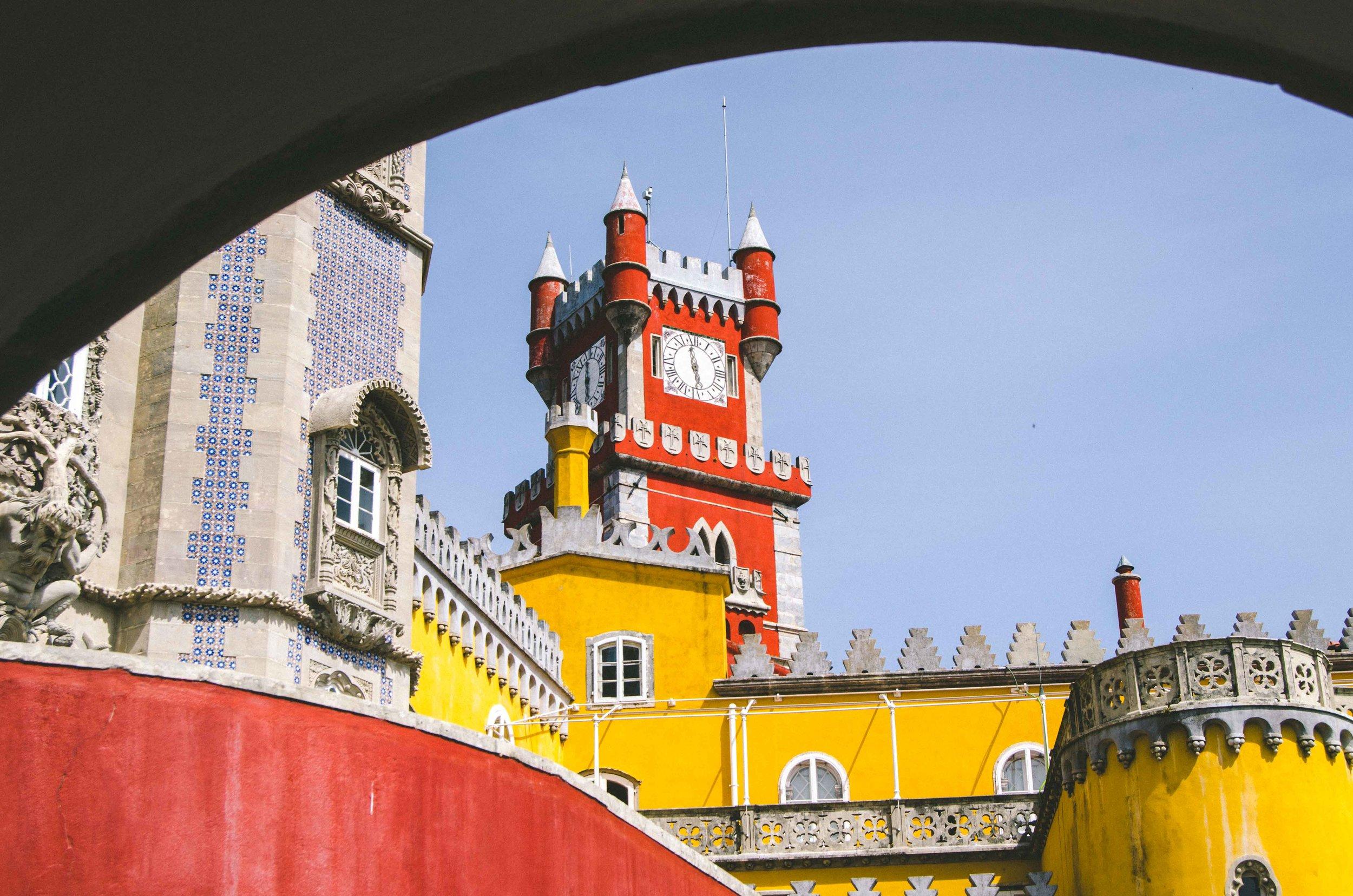 Portugal: Palacio da Pena -