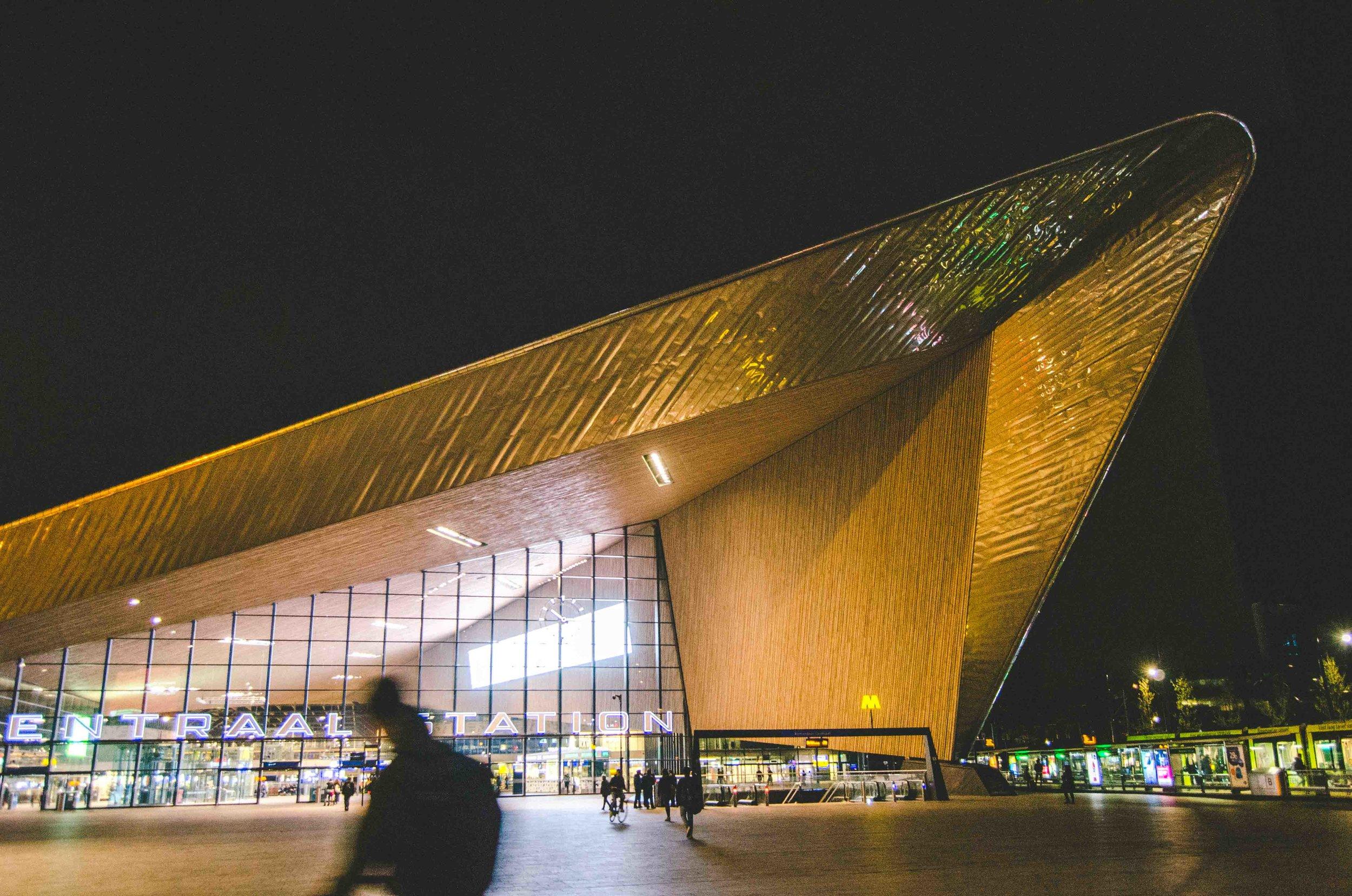 Rotterdam Centraal train station