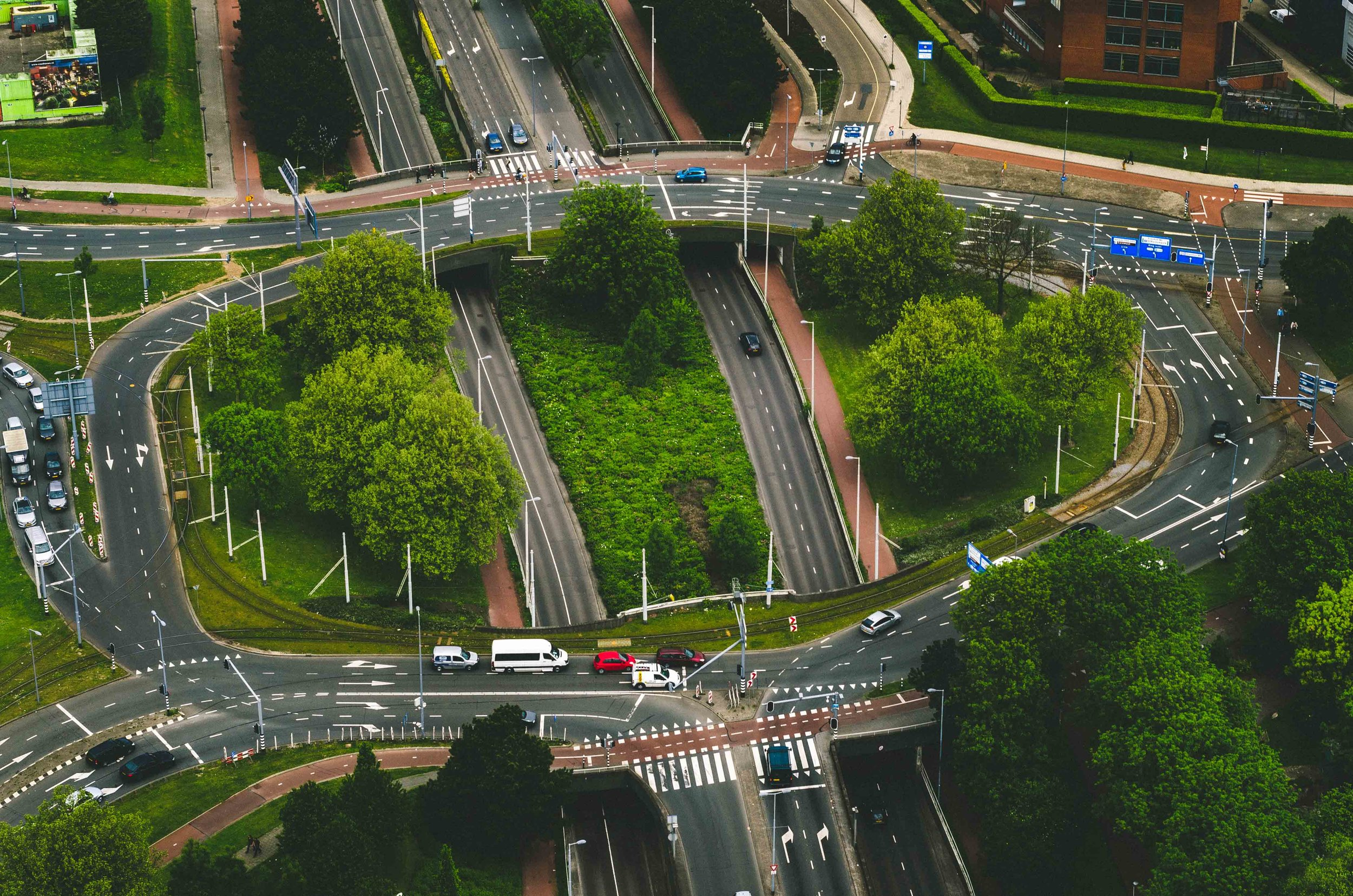 Westzeedijk roundabout/intersection