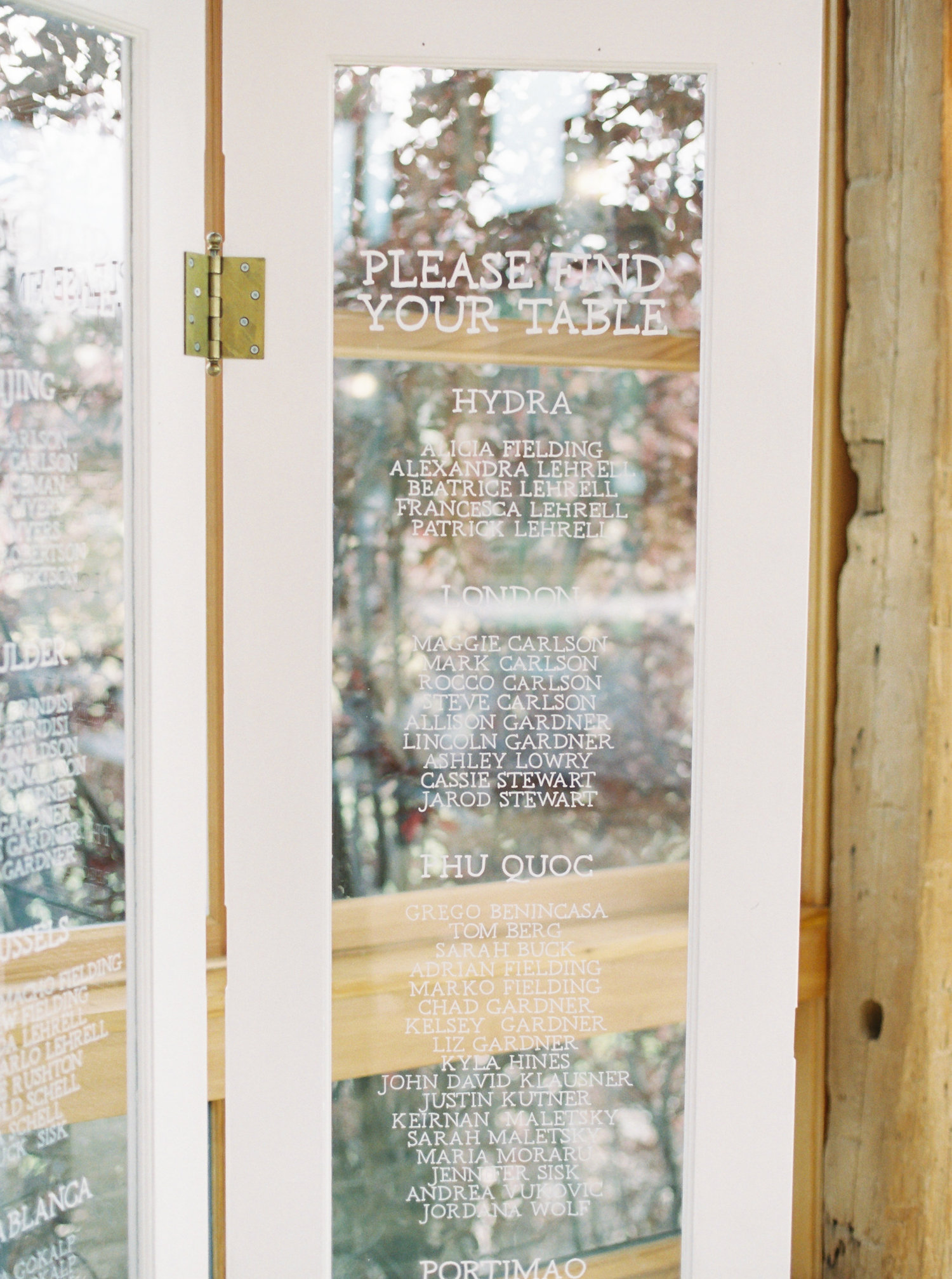 Wedding-Seating-Sign-Calligraphy-French-Doors-1