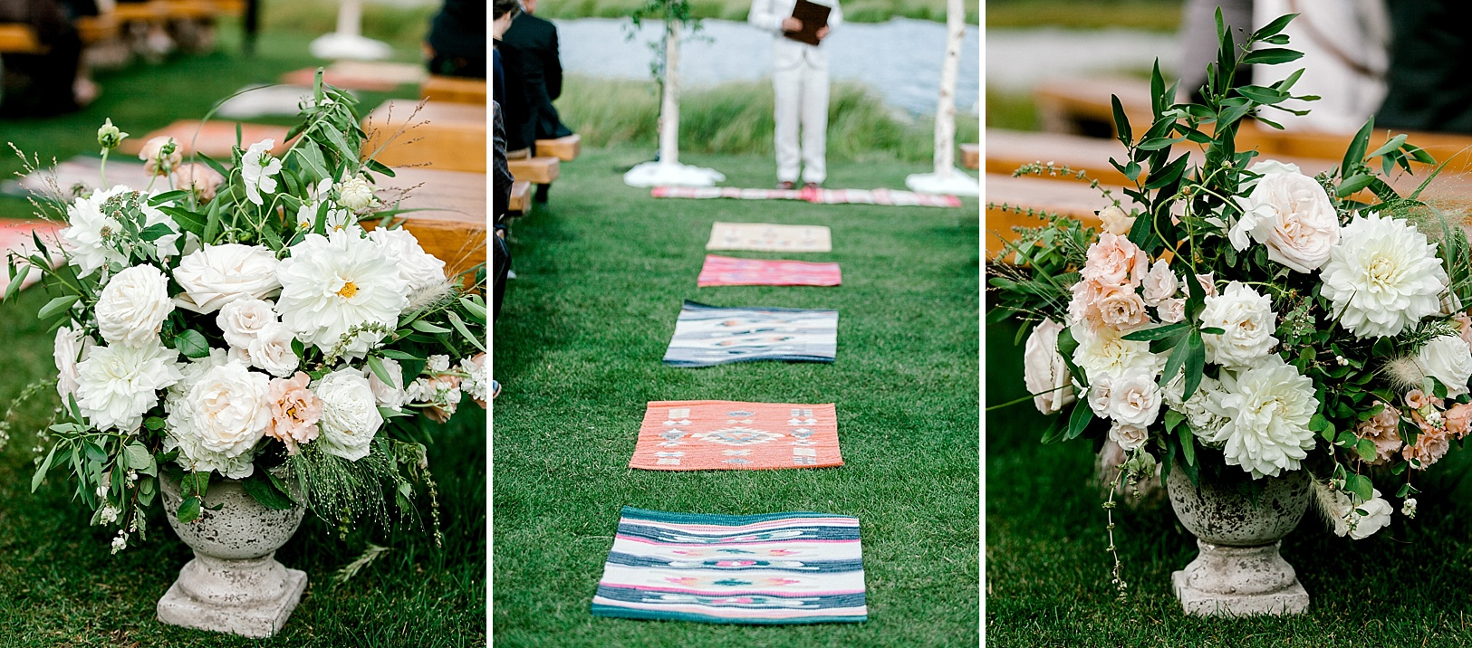 A Romantic Summer wedding at Camp Hale in Colorado with Southwestern touches by The Styled Soiree and Sara Lynn Photographic