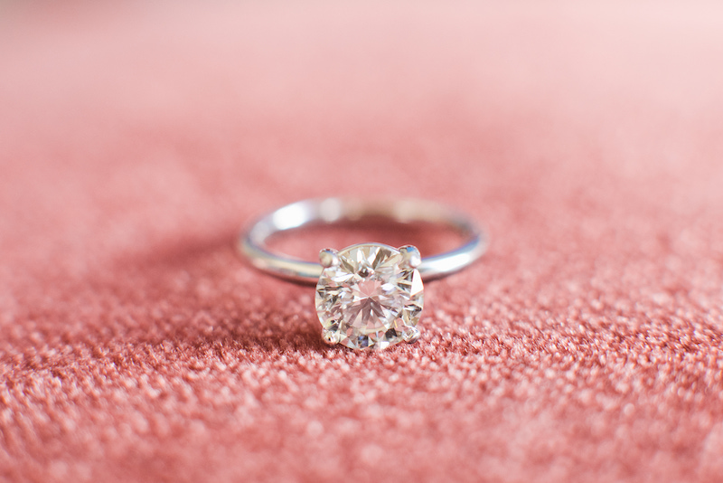 How to ensure gorgeous ring photos on your wedding day by The Styled Soiree, photo by  Jackie Cooper Photography