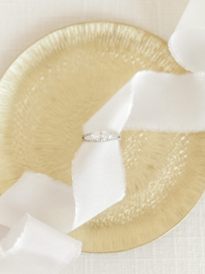 How to ensure gorgeous ring photos on your wedding day by The Styled Soiree, photo by  Sara Lynn