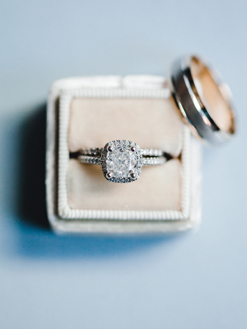 Style Your Wedding Ring with a Mrs Box by The Styled Soiree and Sara Lynn Photo