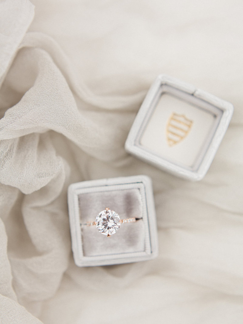 A gorgeous Susie Saltzman ring, styled three ways by The Styled Soiree and Avenue One Photography