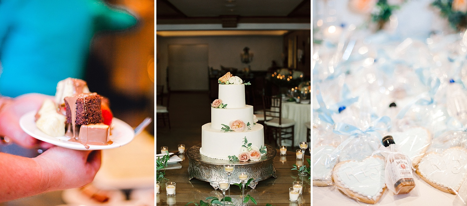 Wedding desserts and favors from The Sonnenalp in Vail, Colorado