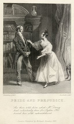 "Is RGIII the Miss Elizabeth Bennet – seen here in an 1833 engraving for Jane Austen's ""Pride and Prejudice"" – of his day?"