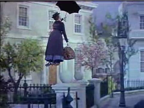 "Scene from ""Mary Poppins"""