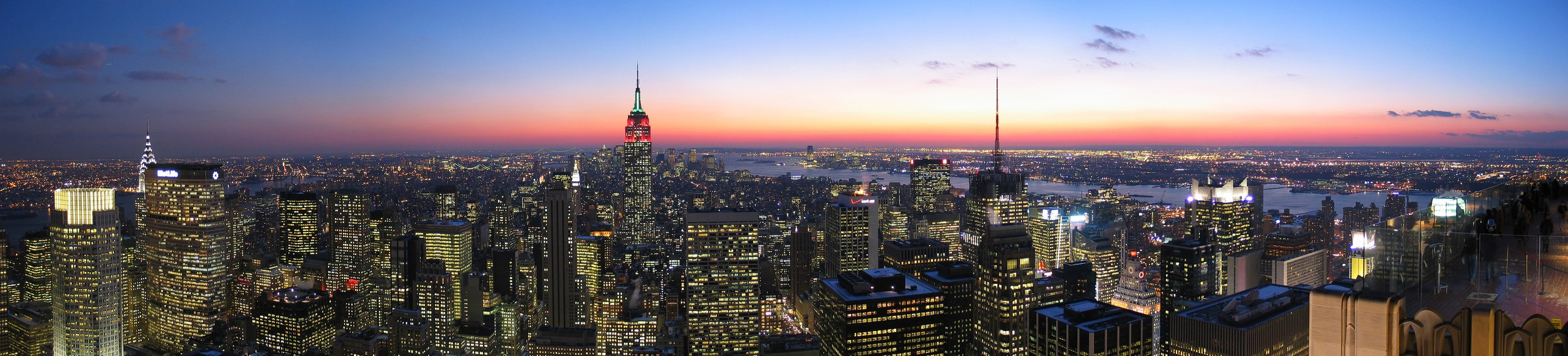 The iconic skyline. Photograph by Daniel Schwen.
