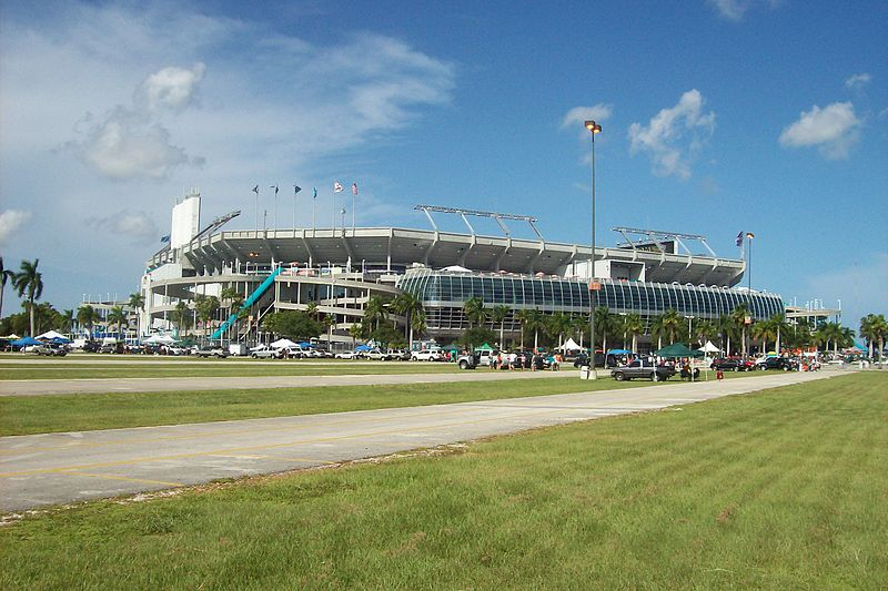 Sun Life Stadium, home of the Miami Dolphins