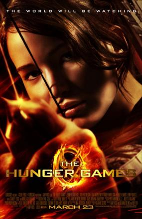 """The Hunger Games"" poster"