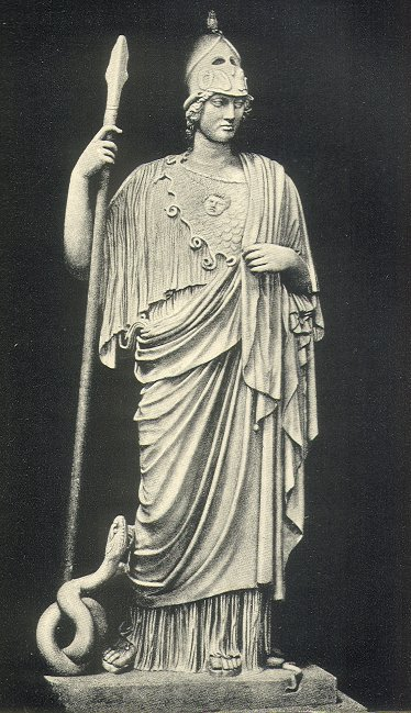 Statue of Athena Giustiniani. Vatican Museums