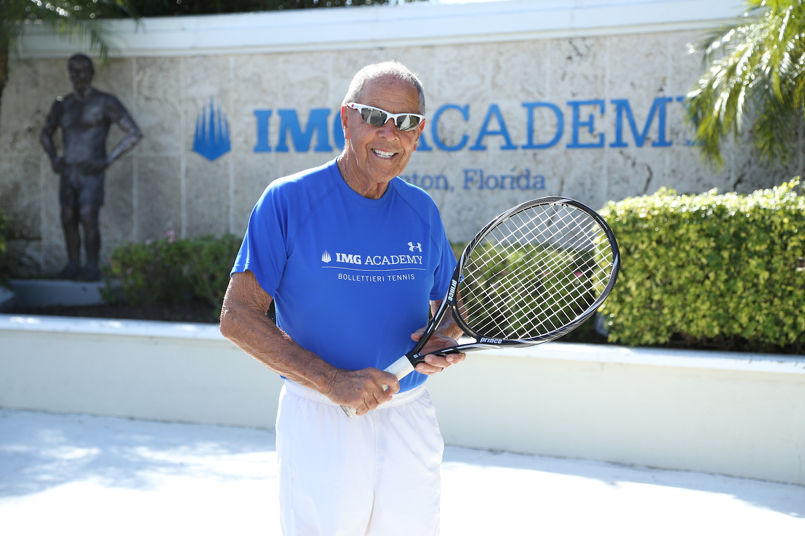"""Nick Bollettieri's new book, """"Changing the Game"""", is dedicated to Arthur Ashe and Billie Jean King. """"Most people build buildings. They tore down barriers."""""""