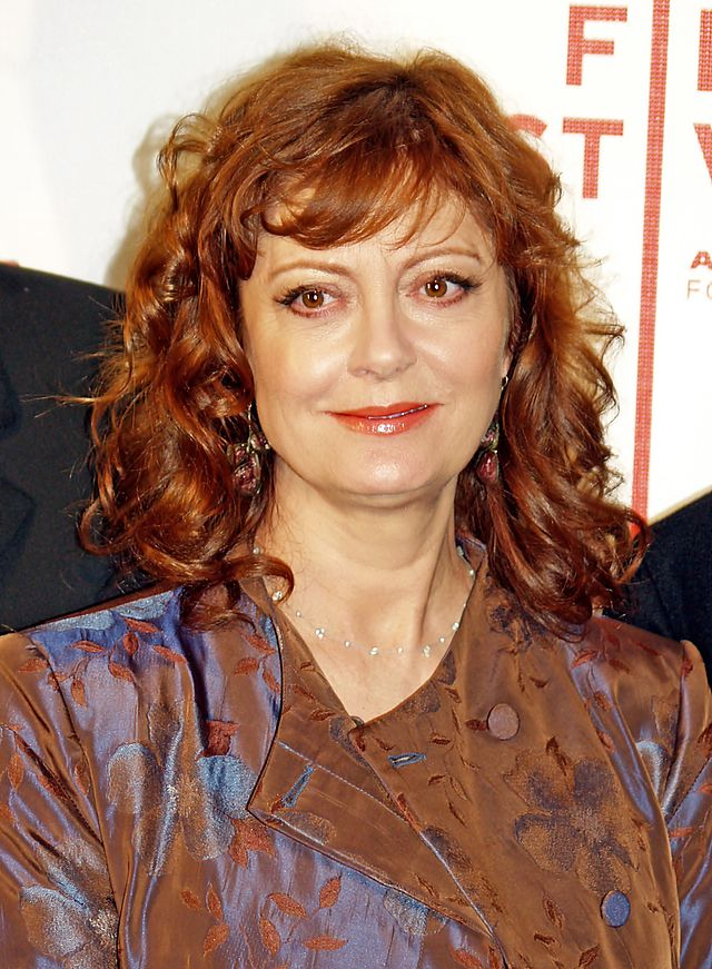 Actress Susan Sarandon is among the supporters of gay marriage on the Human Rights Campaign's website. Photograph by David Shankbone.