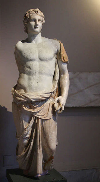 Menas' 3  rd  century B.C. statue of Alexander, Instanbul Archaeology Museum