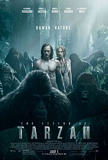 """Poster for """"The Legend of Tarzan"""""""