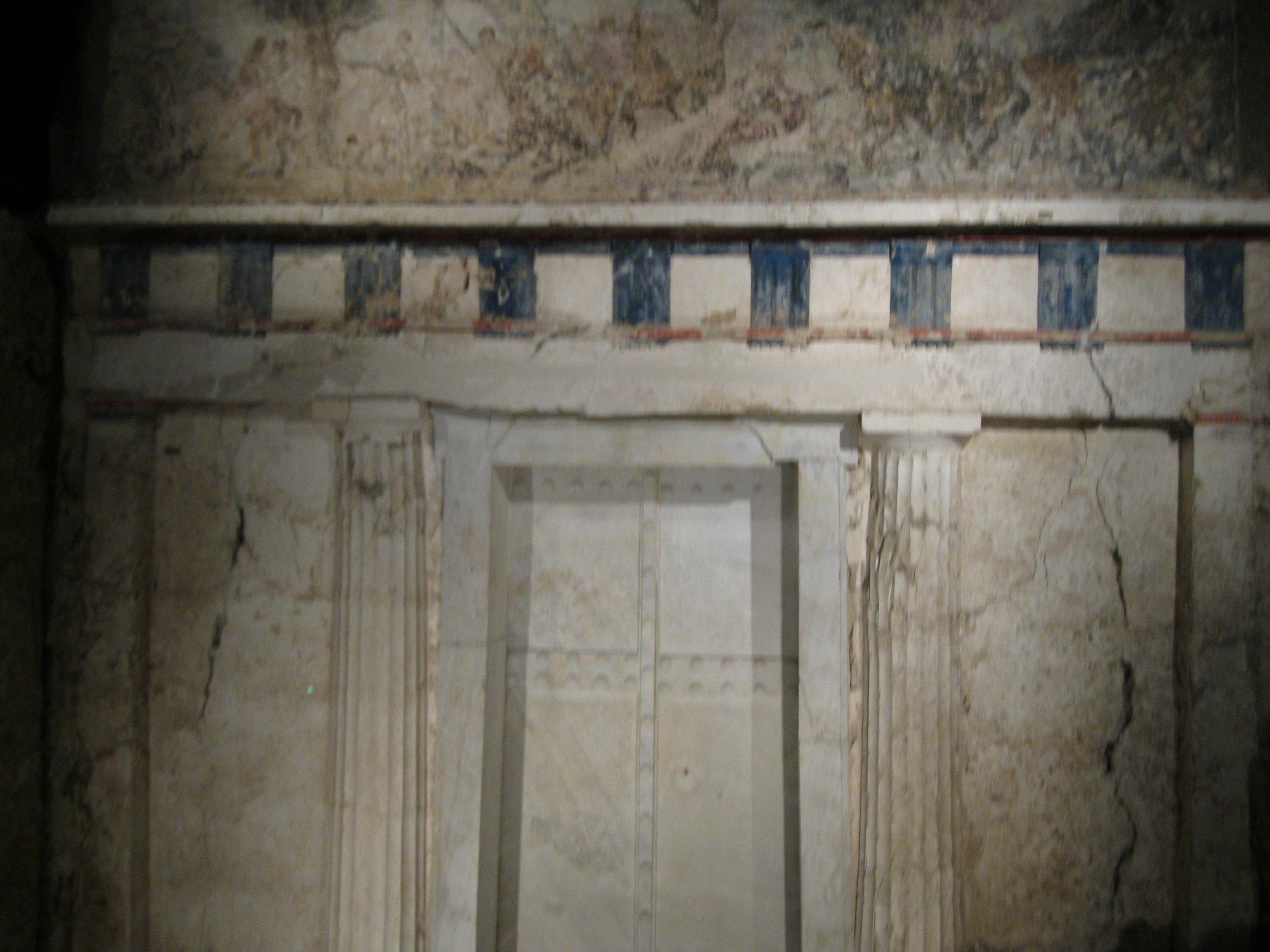 Entrance to Philip II's tomb