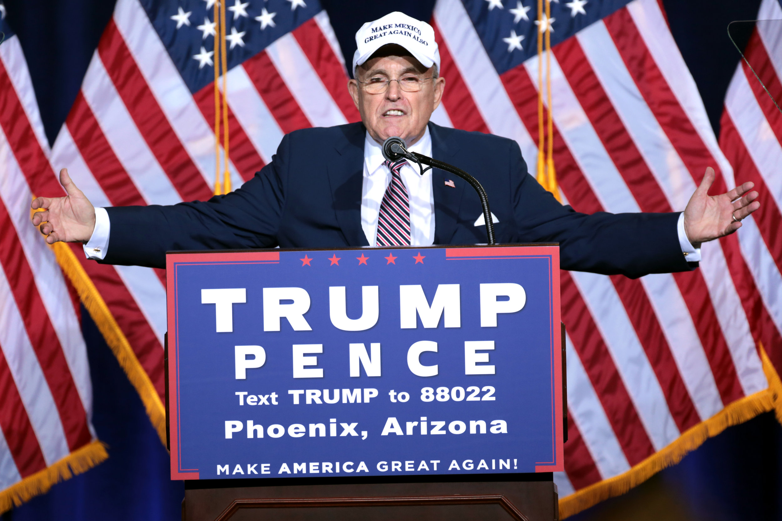 Always in search of a windmill to tilt at, Rudolph Giuliani is now one of President Donald J. Trump's lawyers. But for how long?