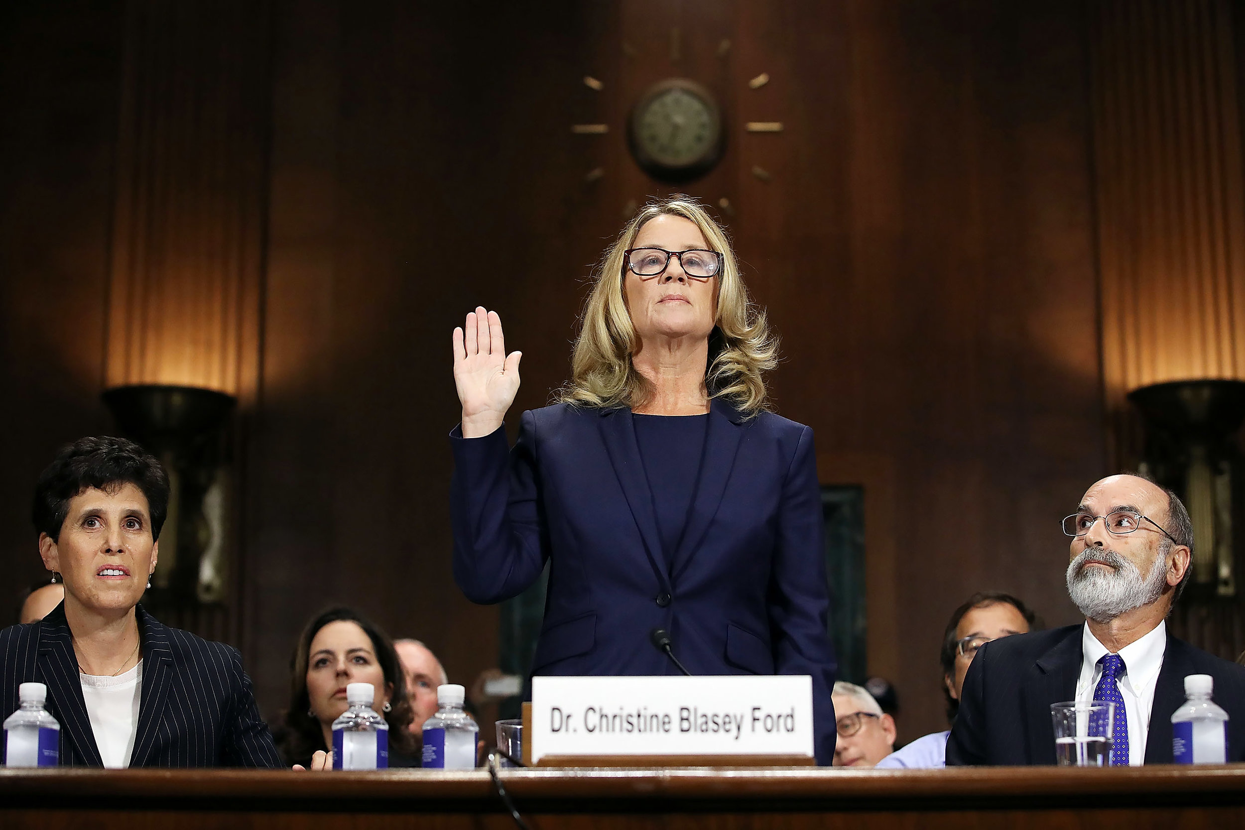 #MeToo meets me first: Christine Blasey Ford testifies against Brett Kavanaugh before the Senate Judiciary Committee.