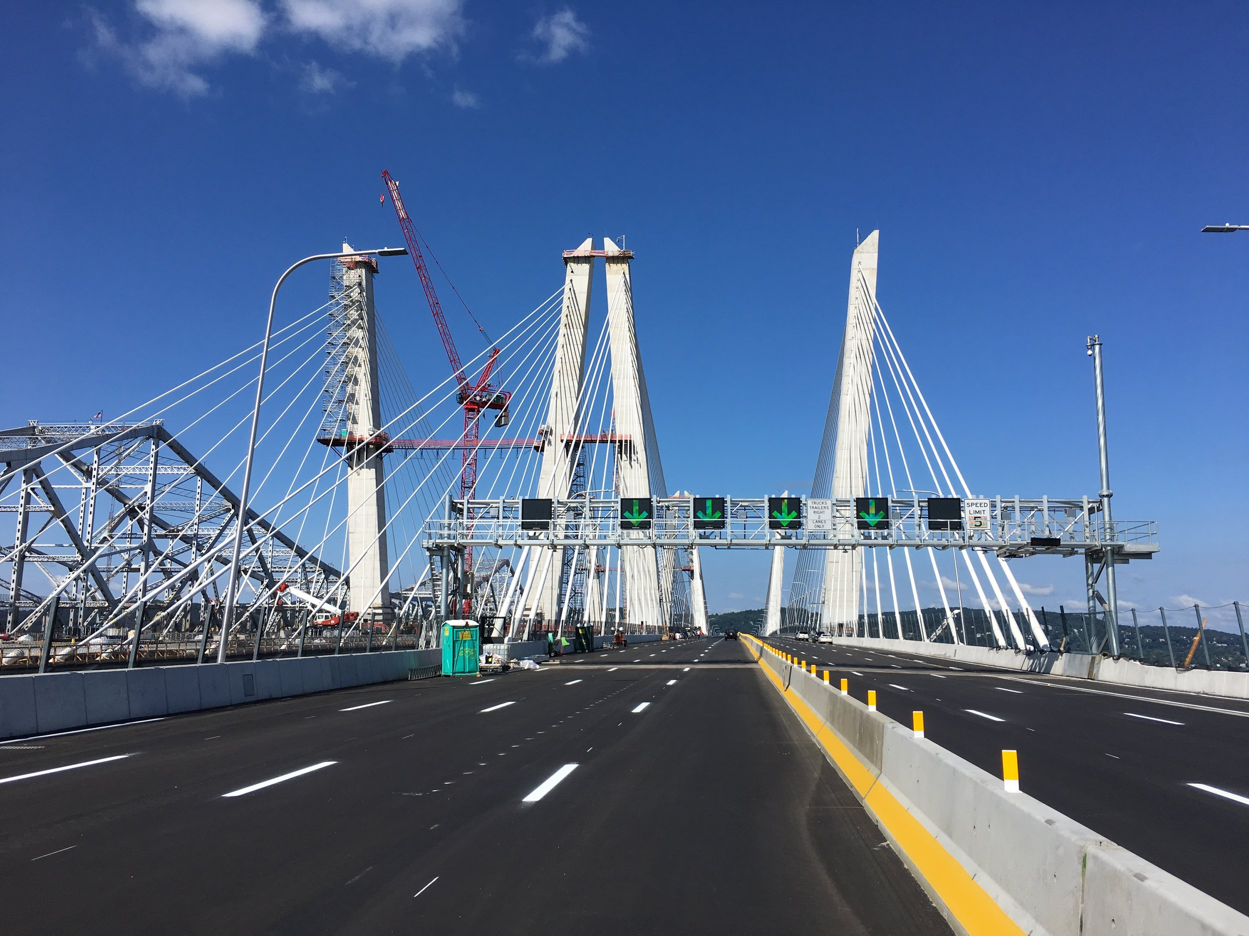 The Gov. Mario M. Cuomo Bridge, alias the new Tappan Zee Bridge, was fast-tracked by the Obama Administration. Is infrastructure a bridge too far for Trump's?
