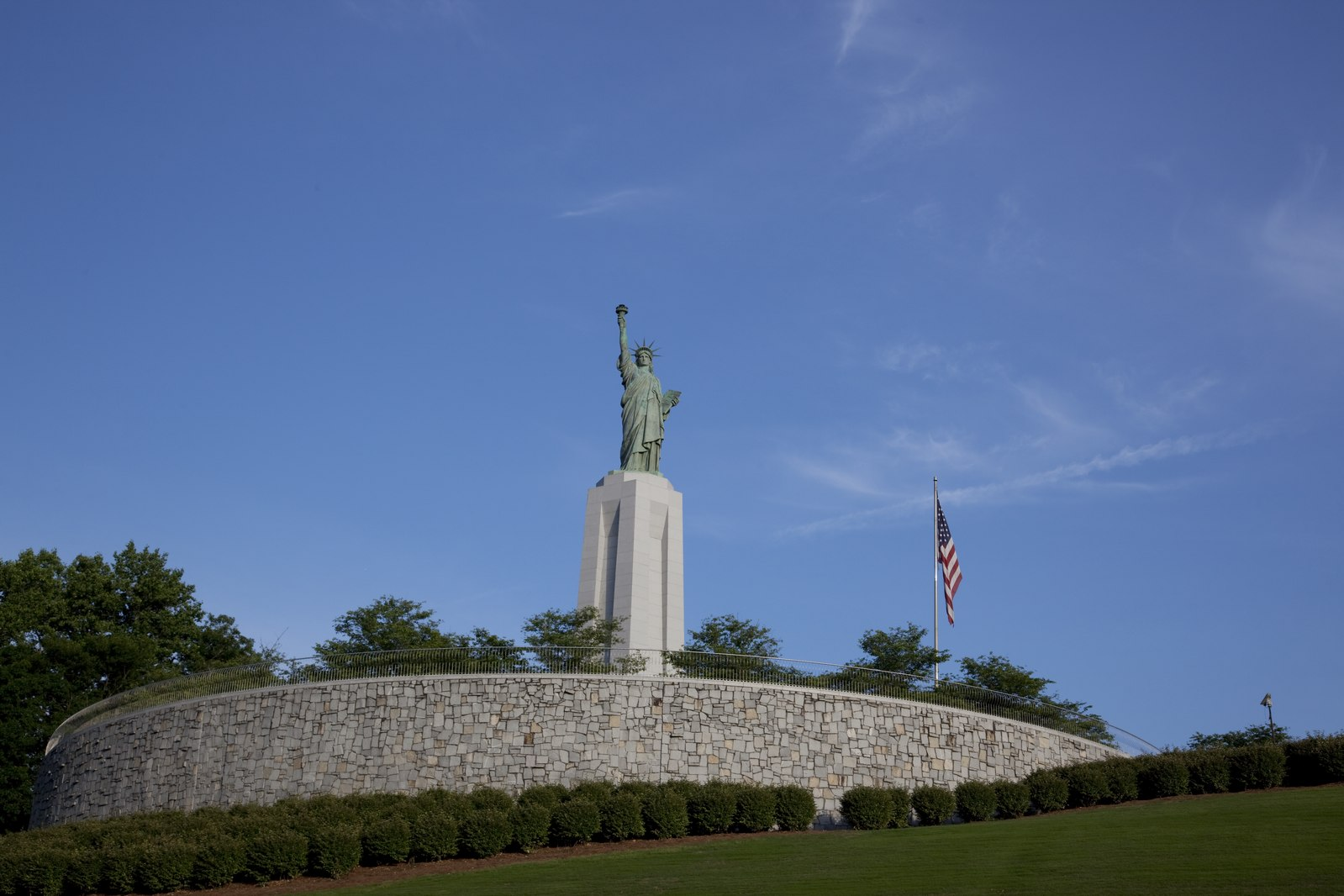 Alabama's Lady Liberty in Liberty Park, Vestavia Hills. While the state celebrates Lady Liberty, it appears to be less interested in individual women's freedom. Carol M. Highsmith/Library of Congress.